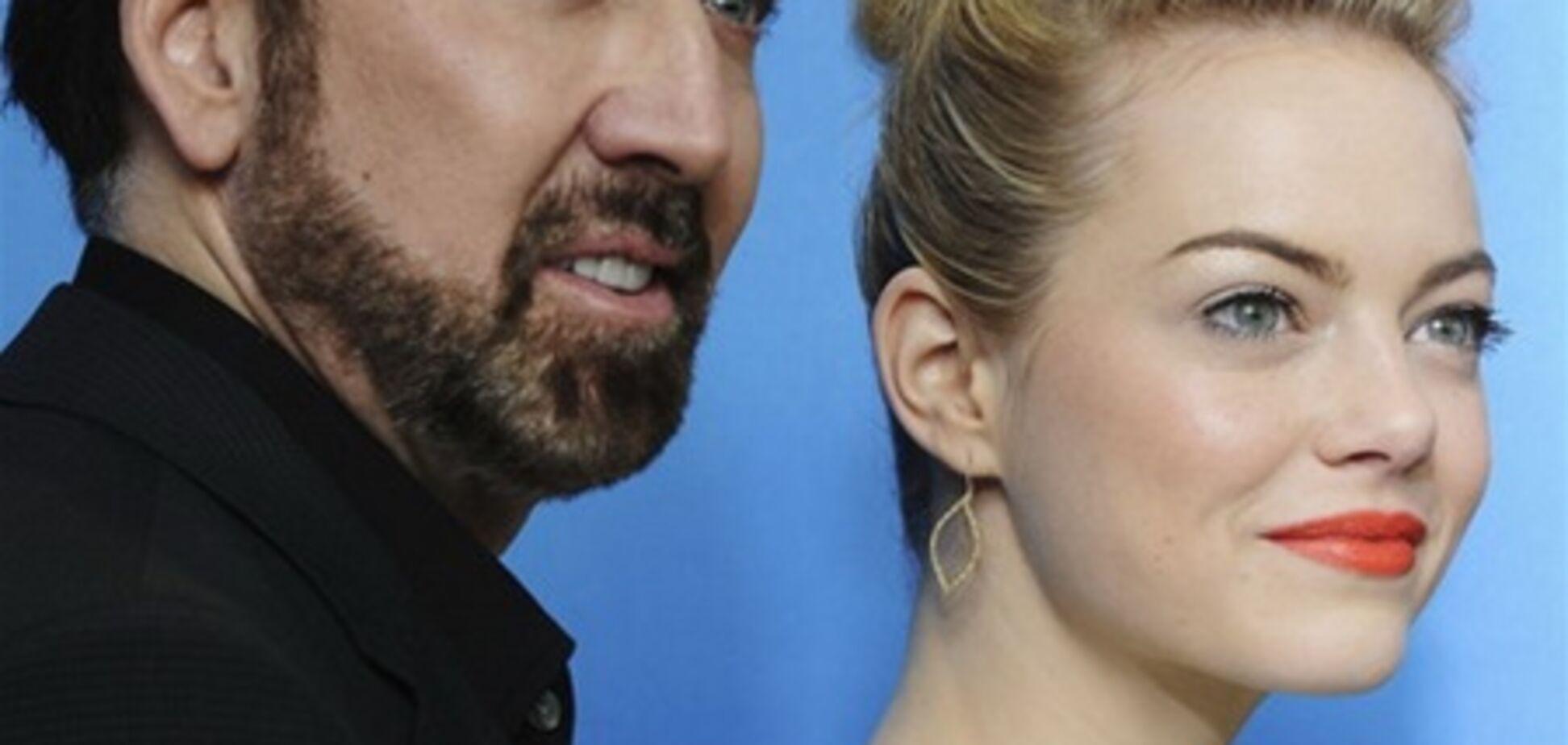Эмма Стоун и Николас Кейдж на Берлинском кинофестивале