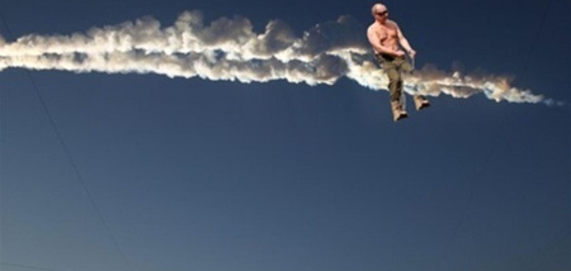 Метеорит в Челябінську: кращі анекдоти
