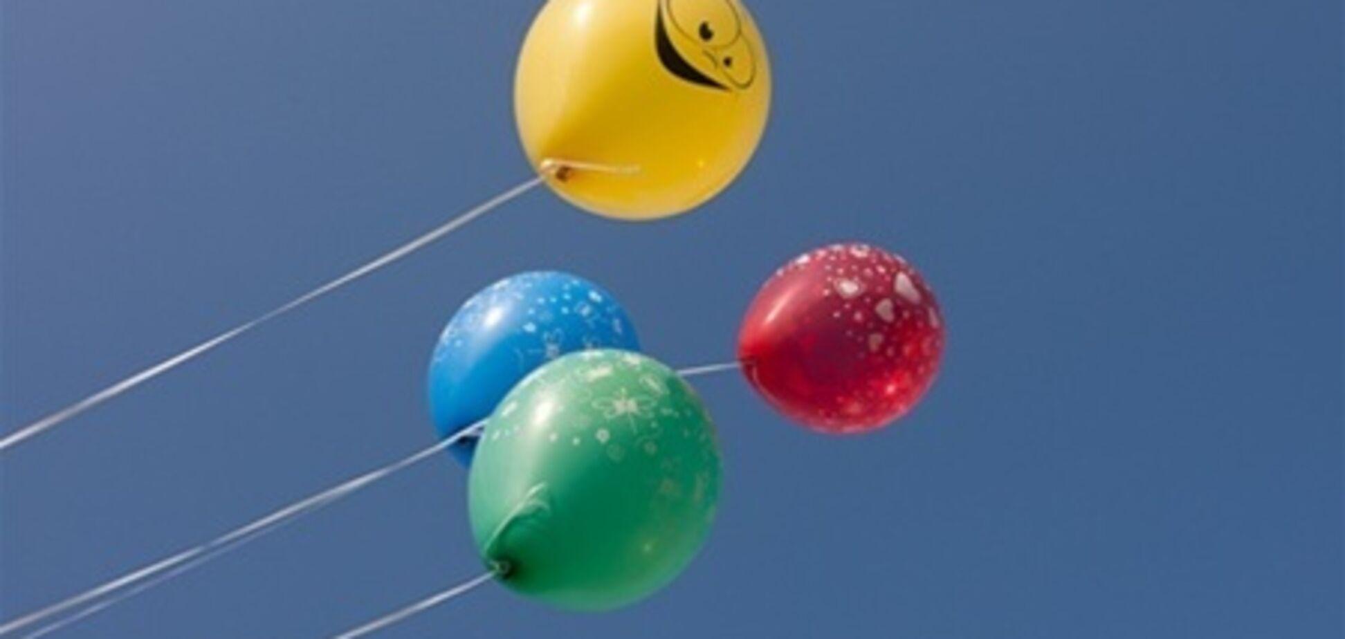 П'яні одесити вкрали кульки, щоб полетіти додому. Відео