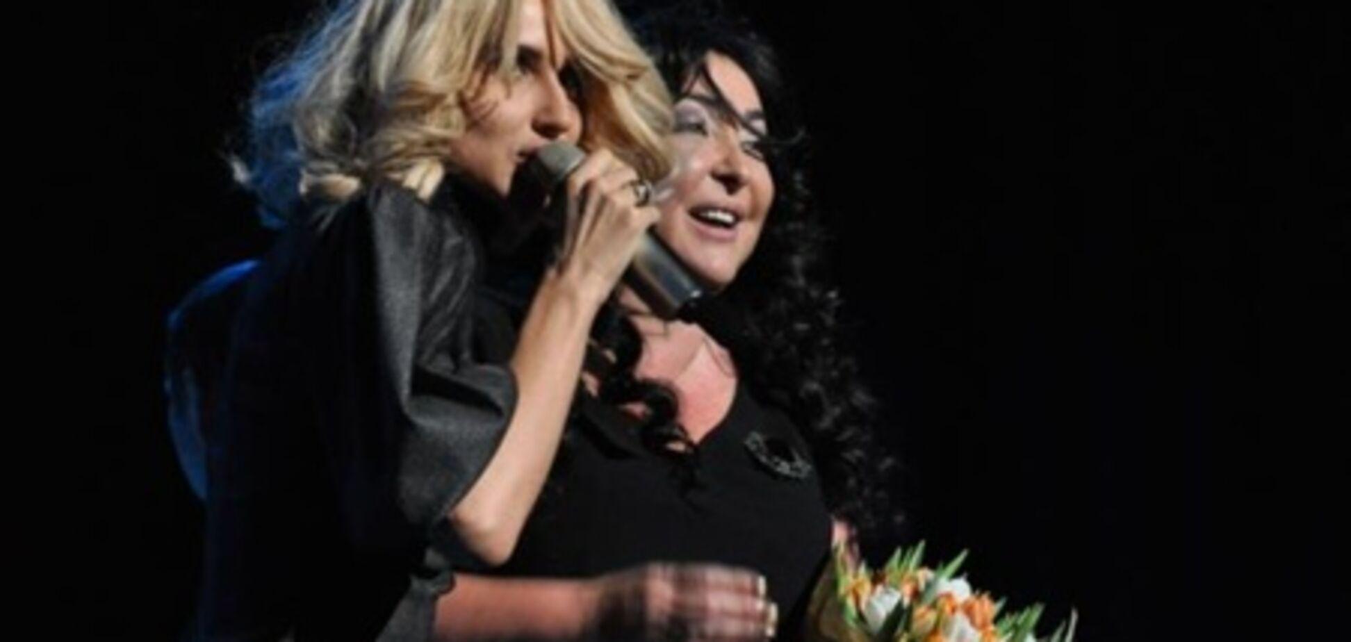 Лобода поцілувала Лоліту. Фото