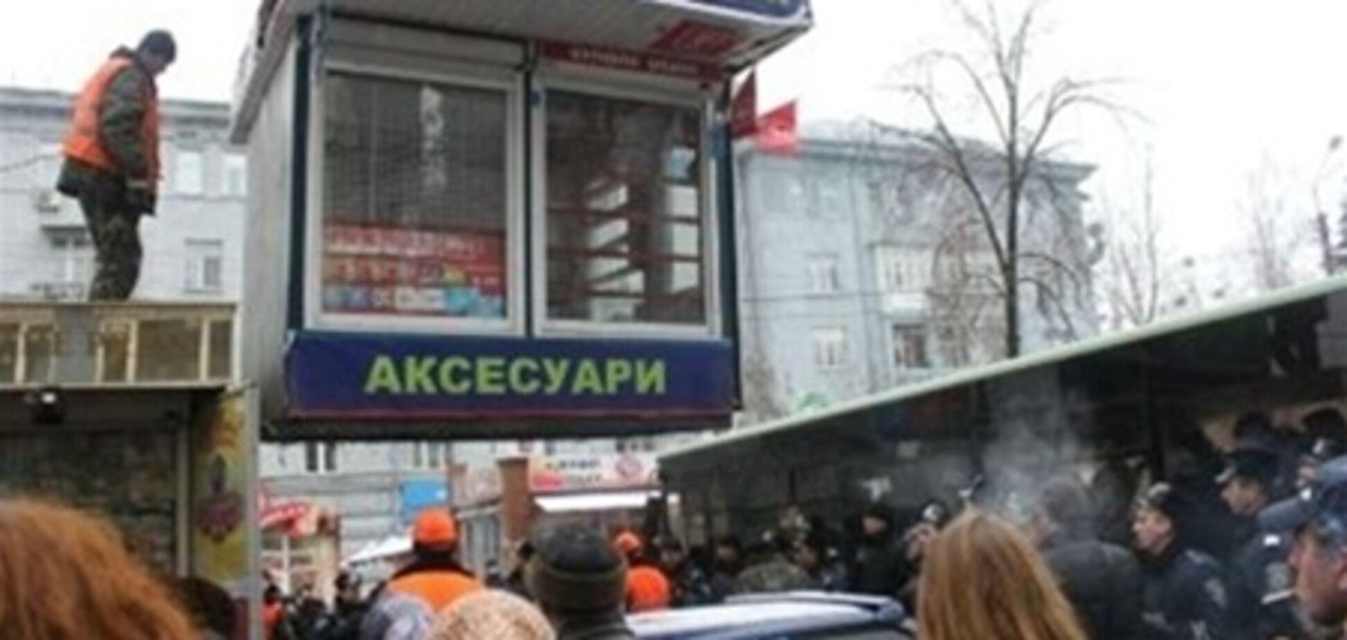 В Киеве останется только 5600 МАФов