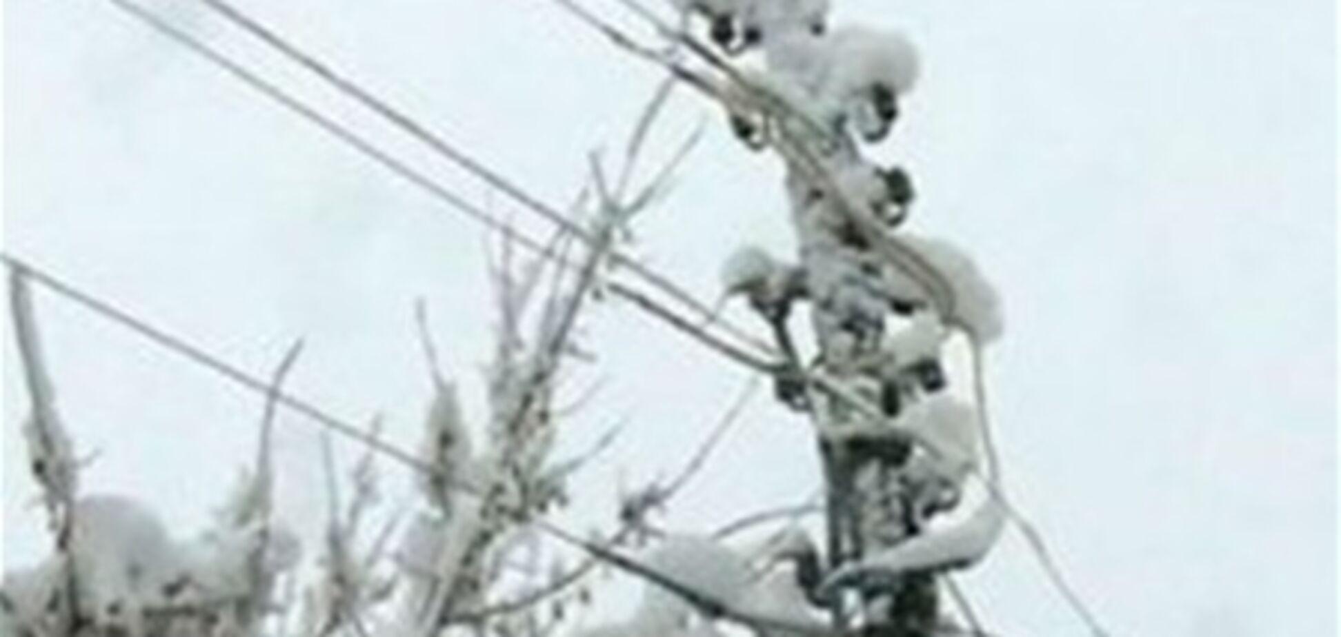 Непогода обесточила более 20 населенных пунктов в Запорожской области