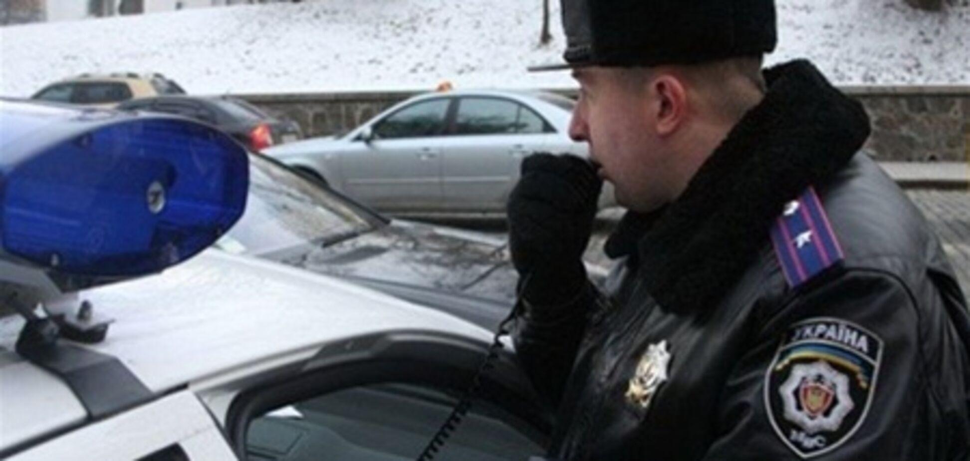 На Одесщине женщина-водитель врезалась в машину ГАИ