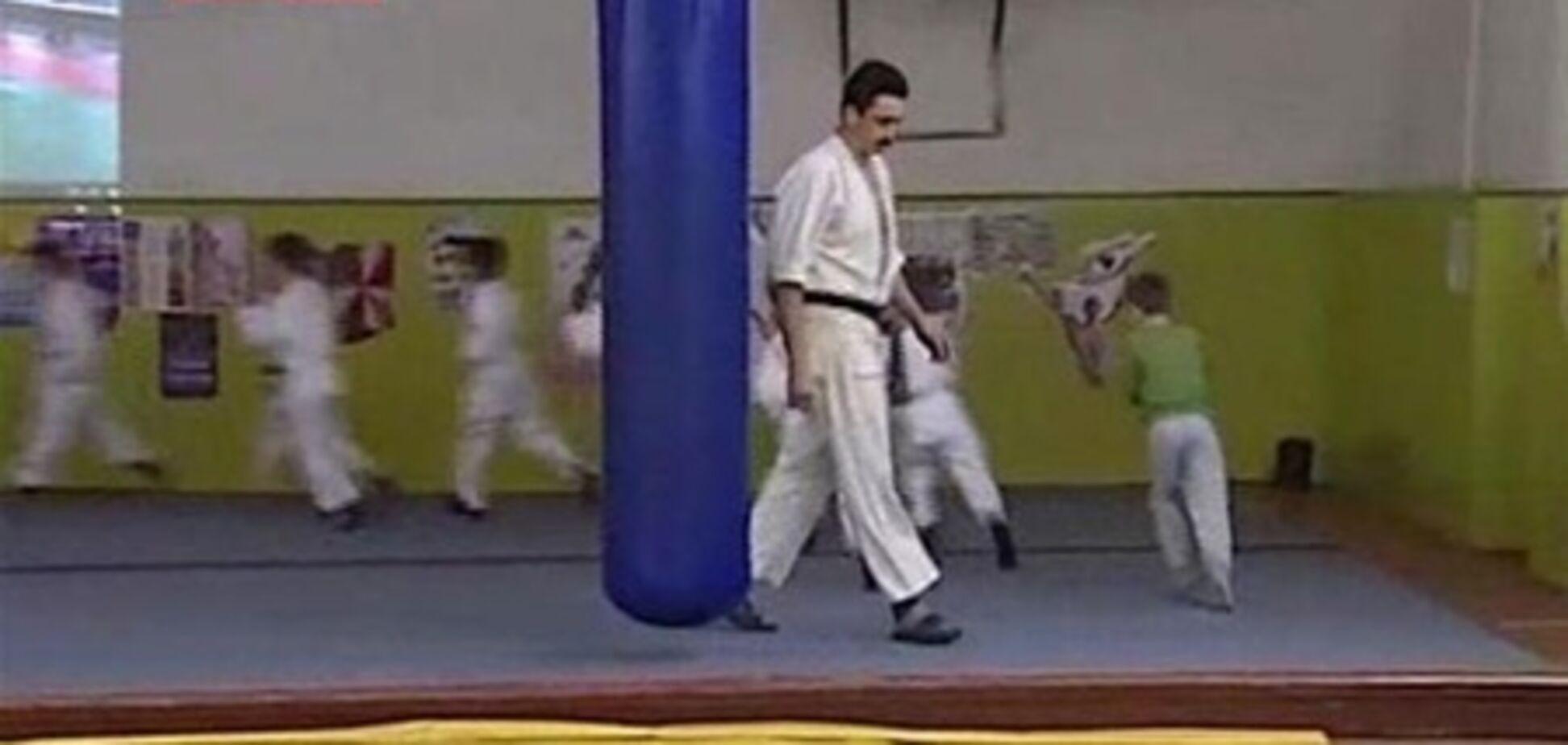 На Киевщине в спортклубе проводили детские побоища?