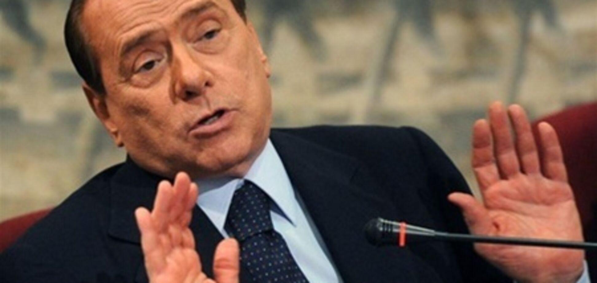 Берлускони осудят за связь с несовершеннолетней проституткой. Фото