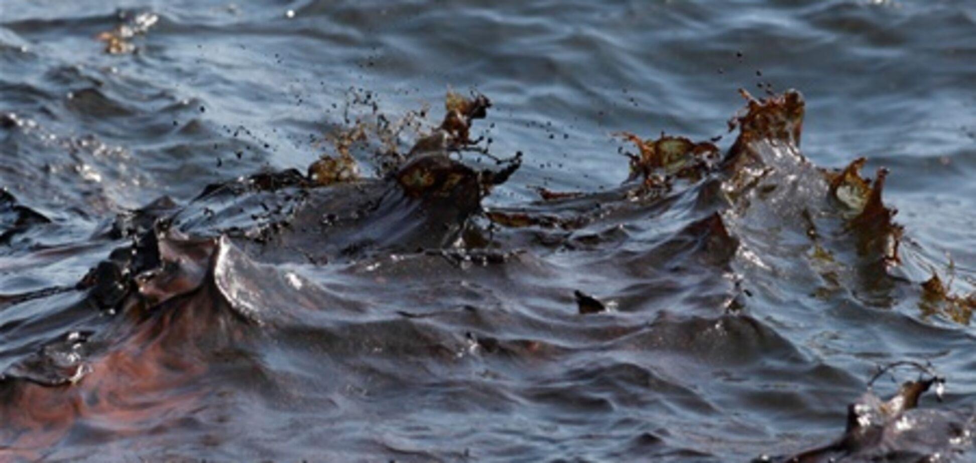 На Одесщине обнаружено загрязнение нефтью на 840 тыс. кв. м