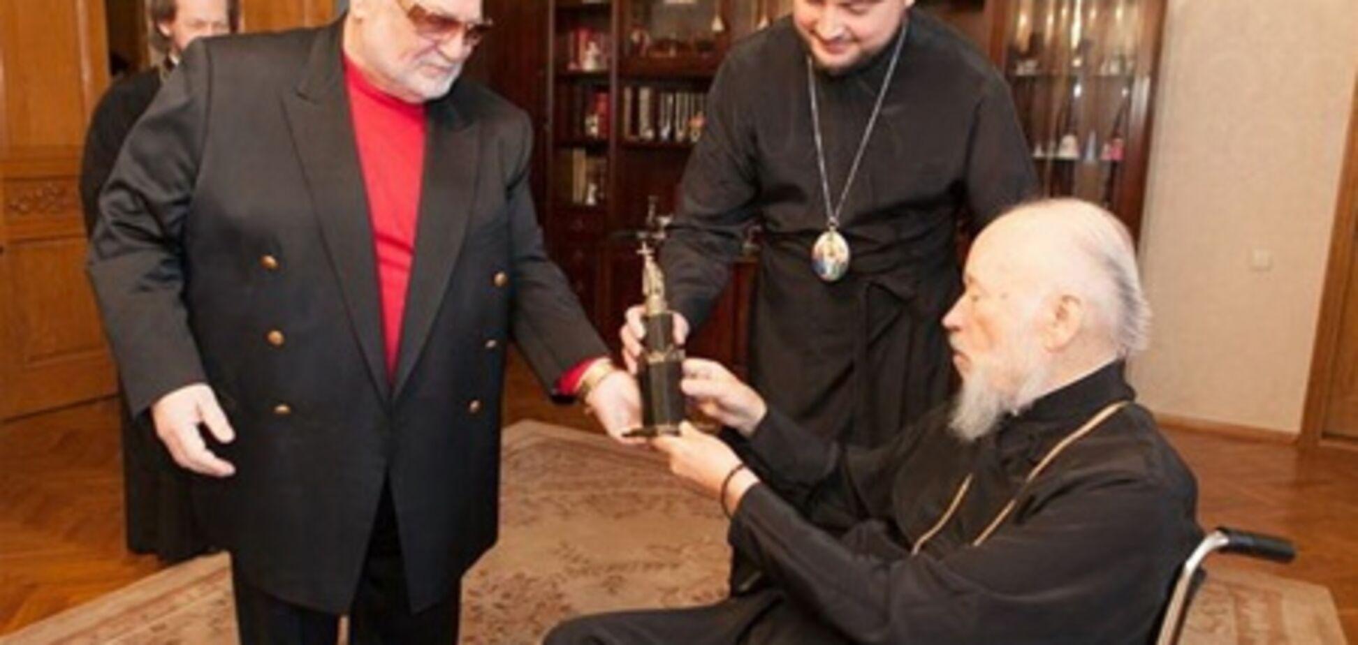 Митрополит Володимир вирішив взяти участь у телепроекті