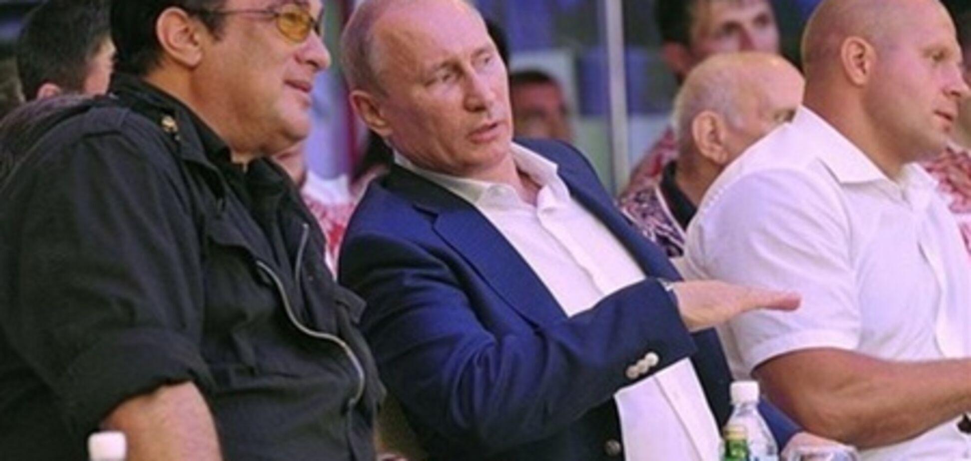 Сігал приїхав до Росії 'потусити' з Путіним