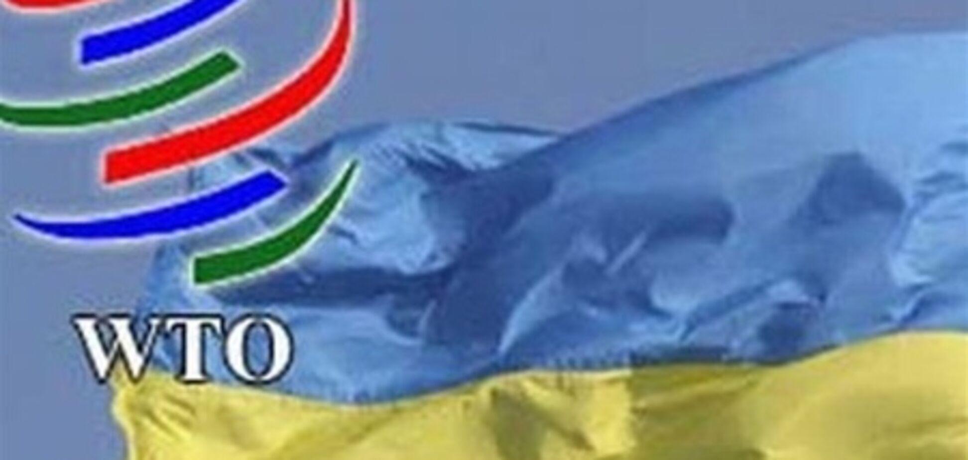 ЕС просит Украину отозвать заявку в ВТО