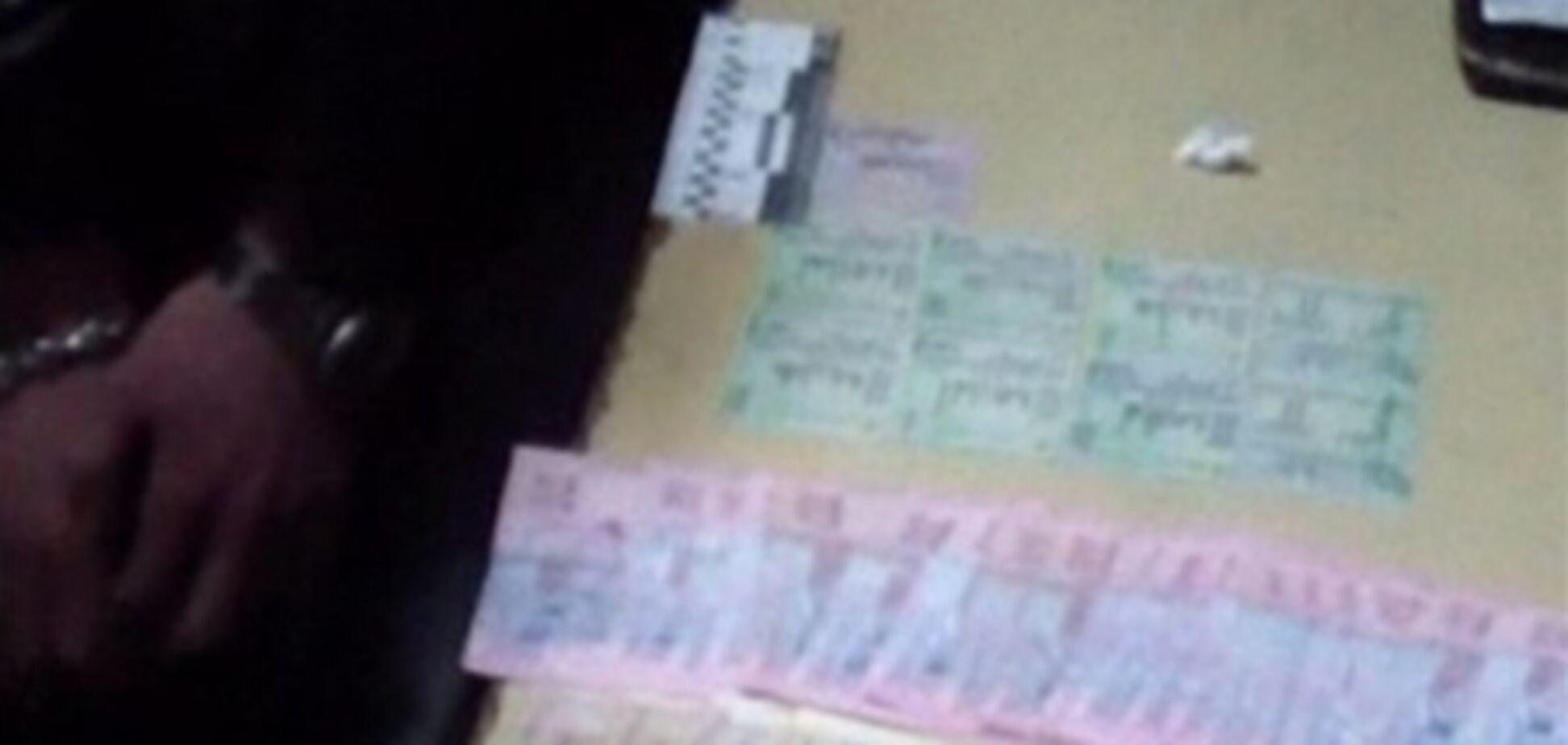 Киевляне продавали в соцсетях документы-подделки