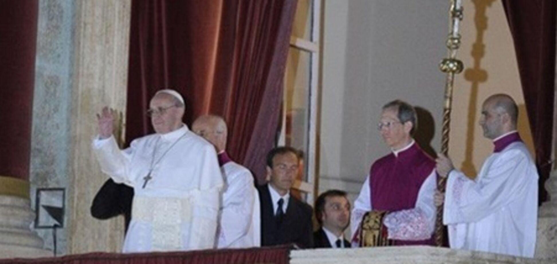 Папа Франциск во многом первый