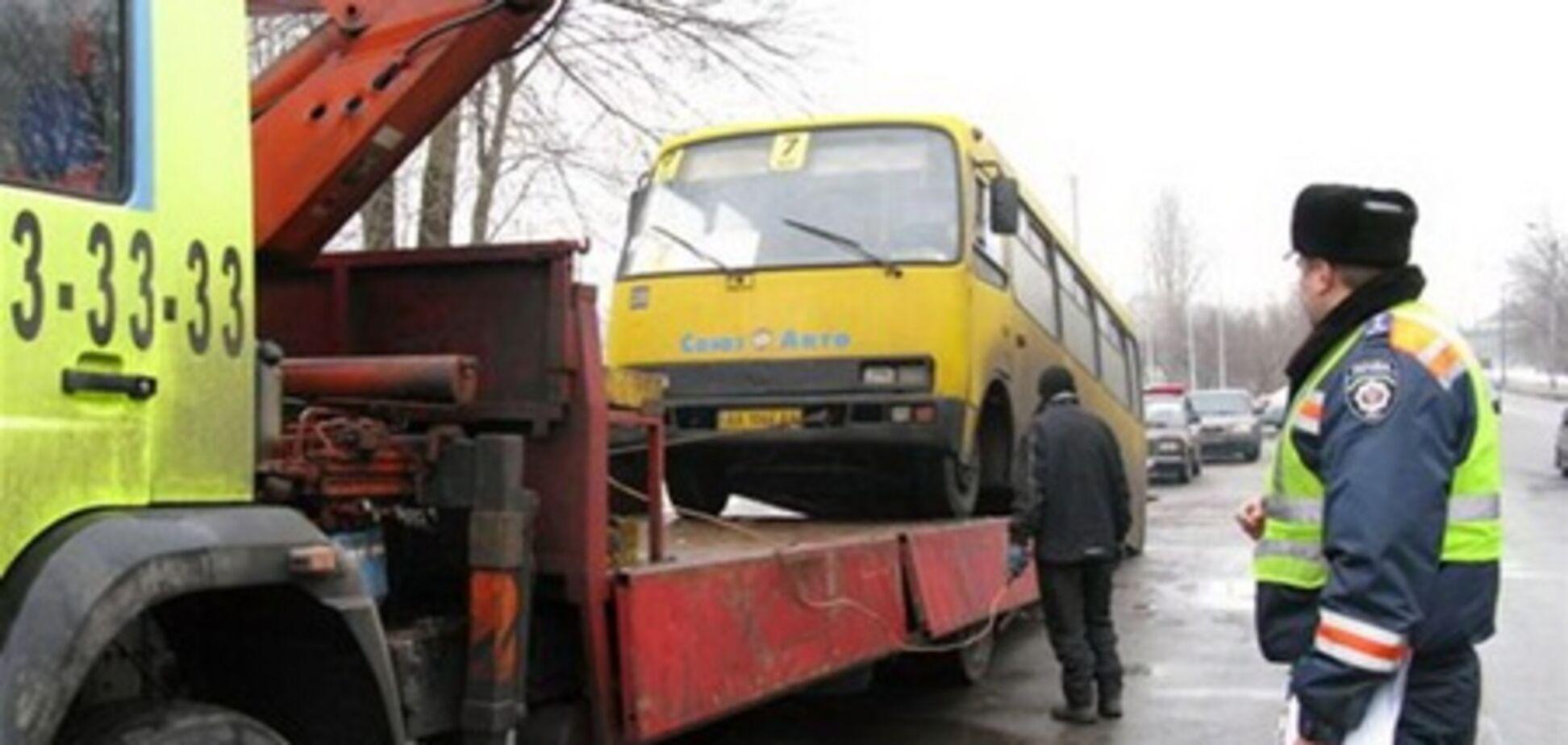 Гаишники учуяли в киевской маршрутке запах конопли