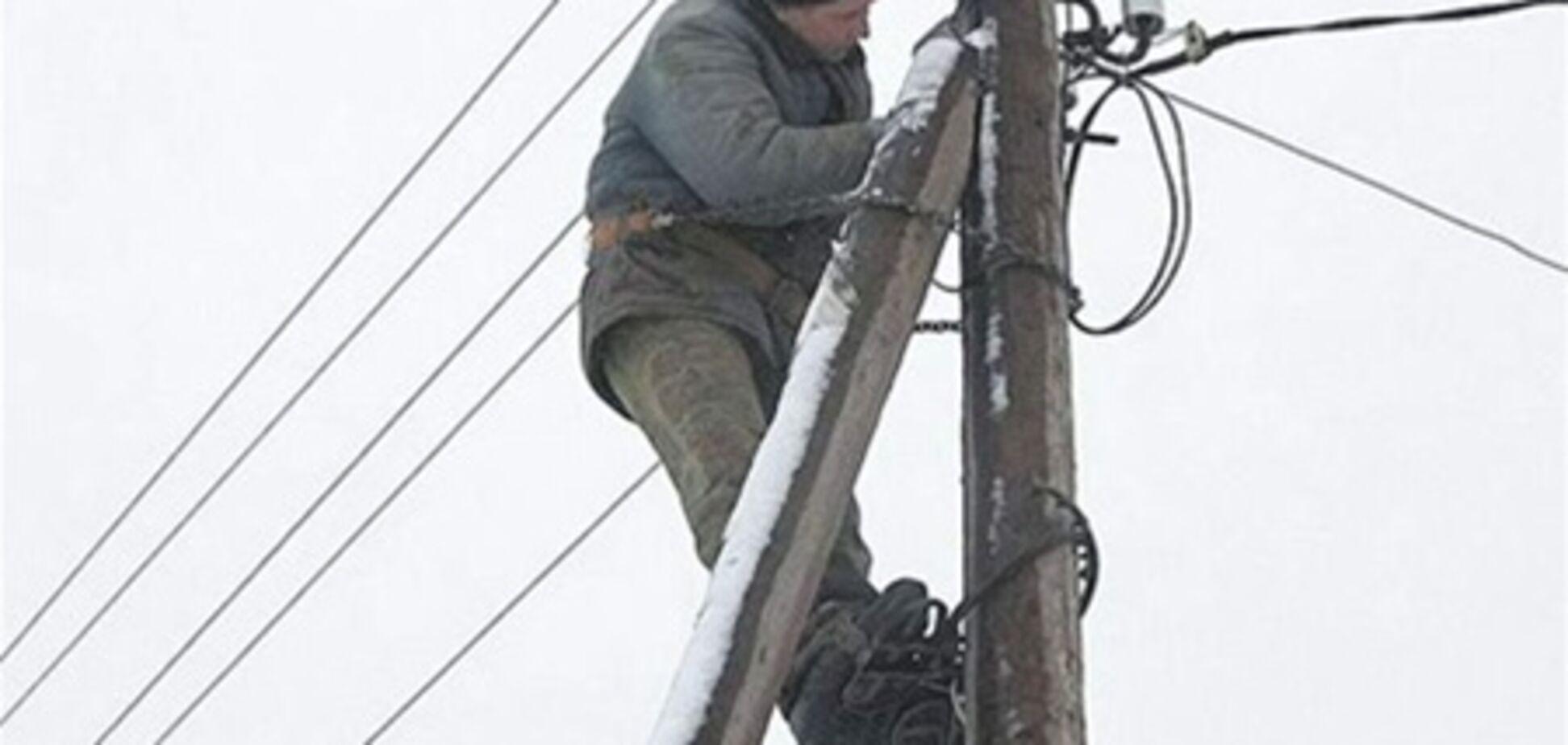 На Львовщине остаются без света 40 населенных пунктов