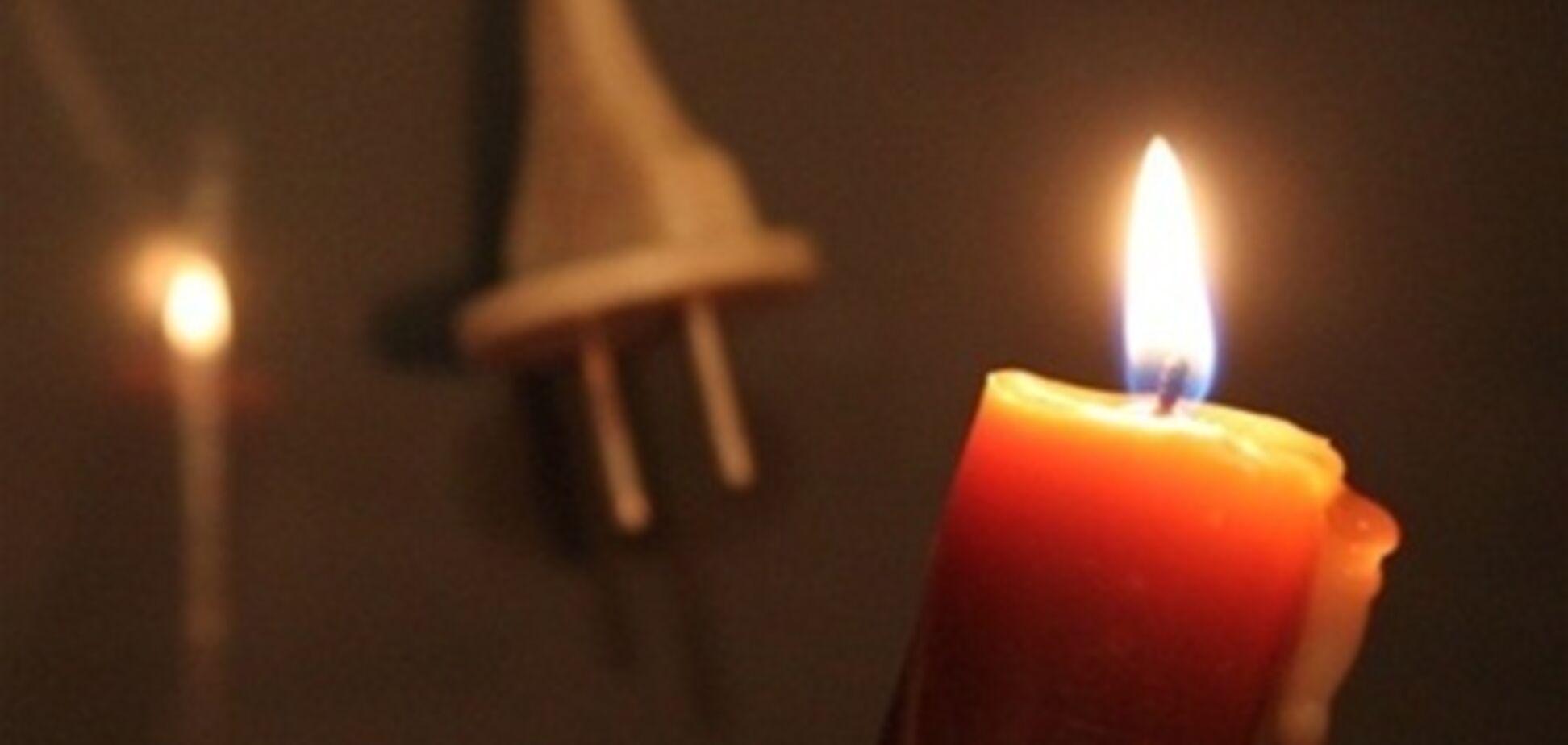 В Украине 319 населенных пунктов без света