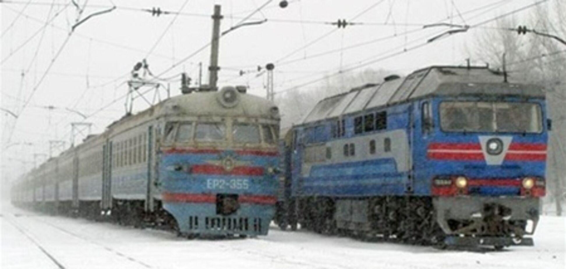 На Львовщине столкнулись поезда