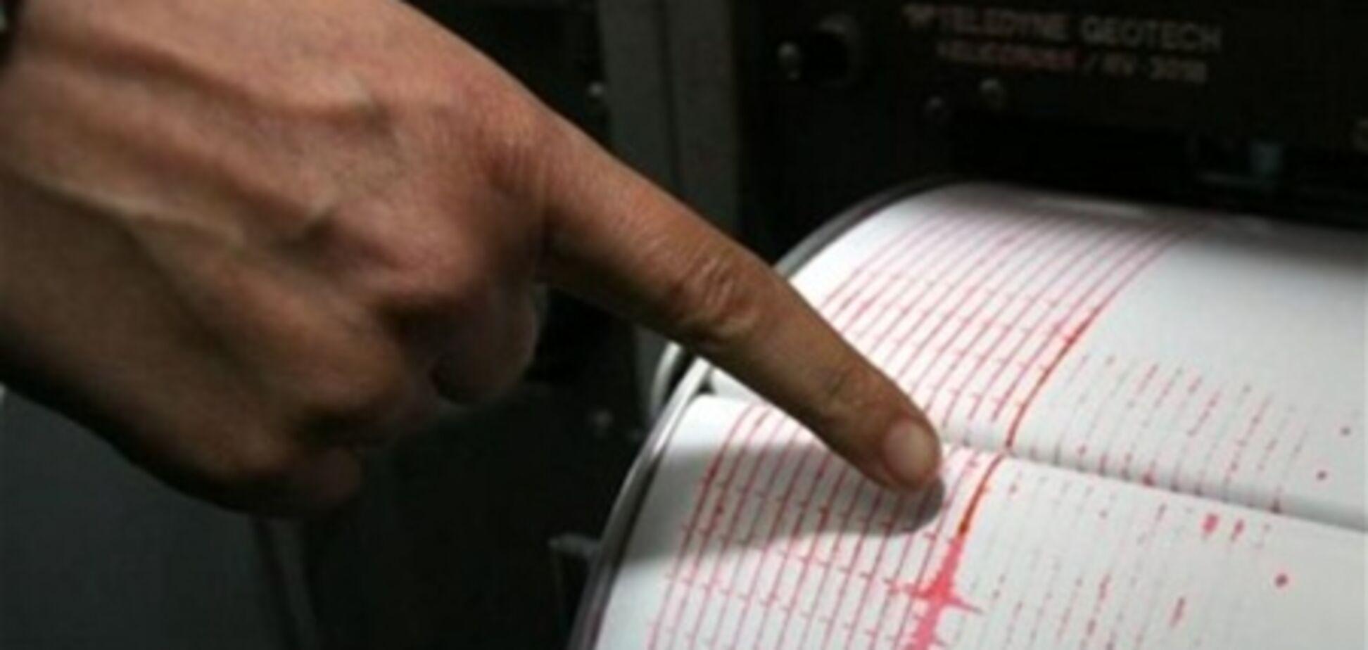 На границе Украины произошло землетрясение