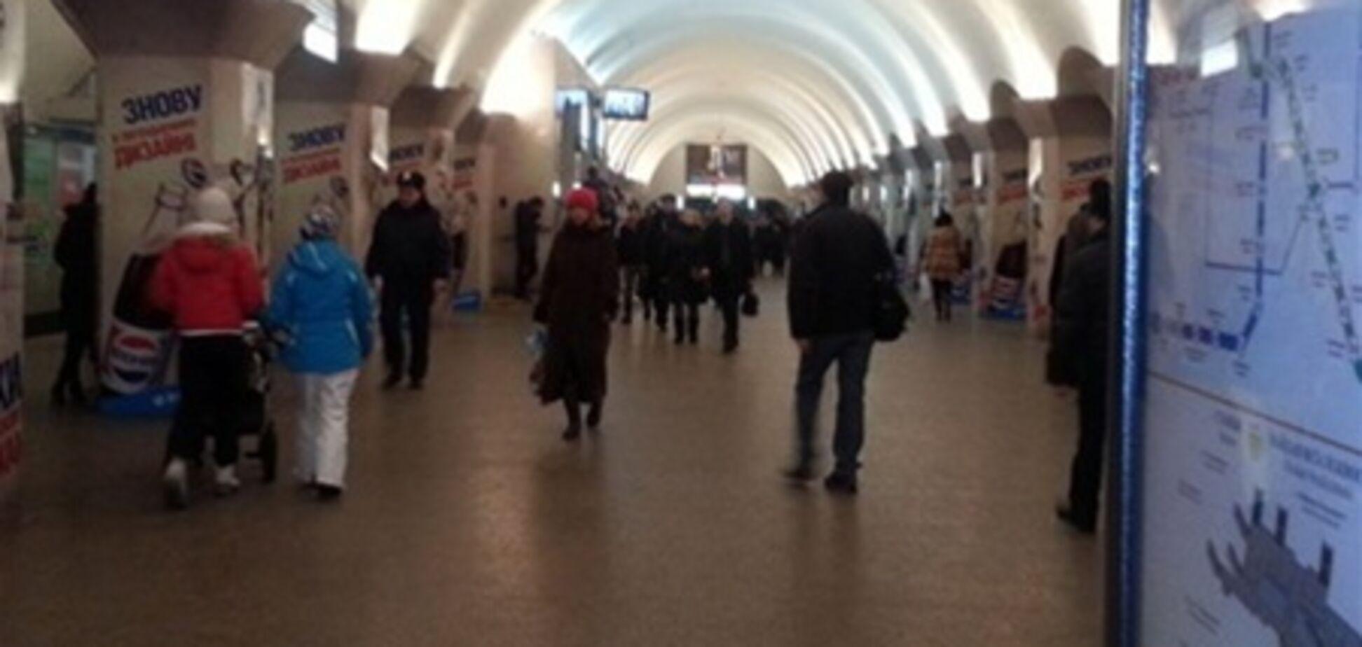 В киевском метро поймали гиперактивных карманников