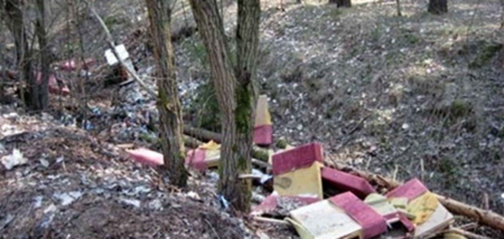 Строители засорили 3 тыс. кв. м леса в Крыму