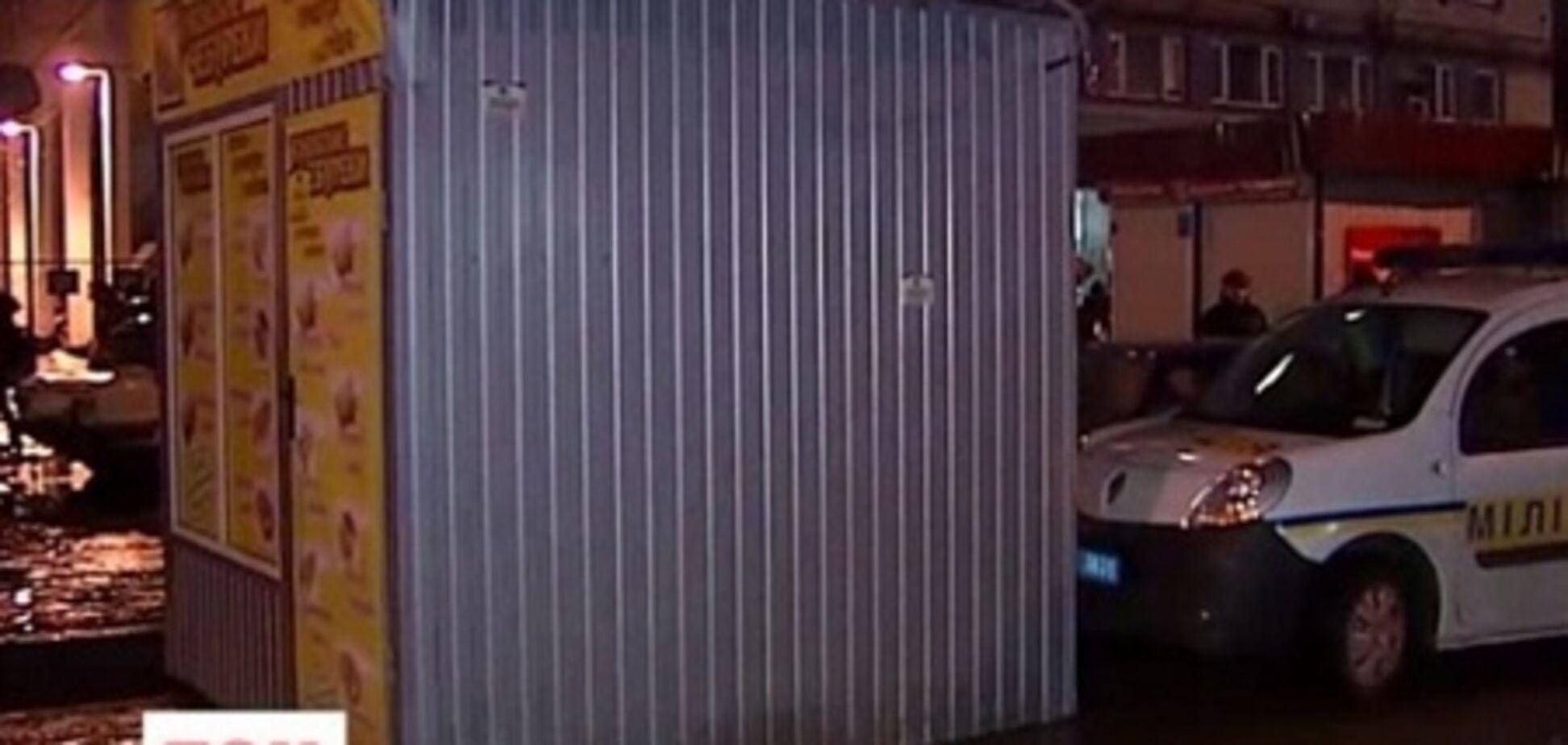 Возле метро КПИ устроили драку из-за МАФа-нелегала