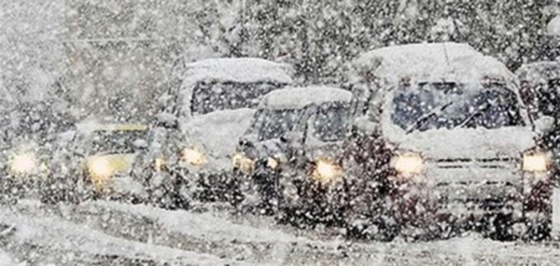 Снегопад прекратился 7 областях, но продолжается в 9