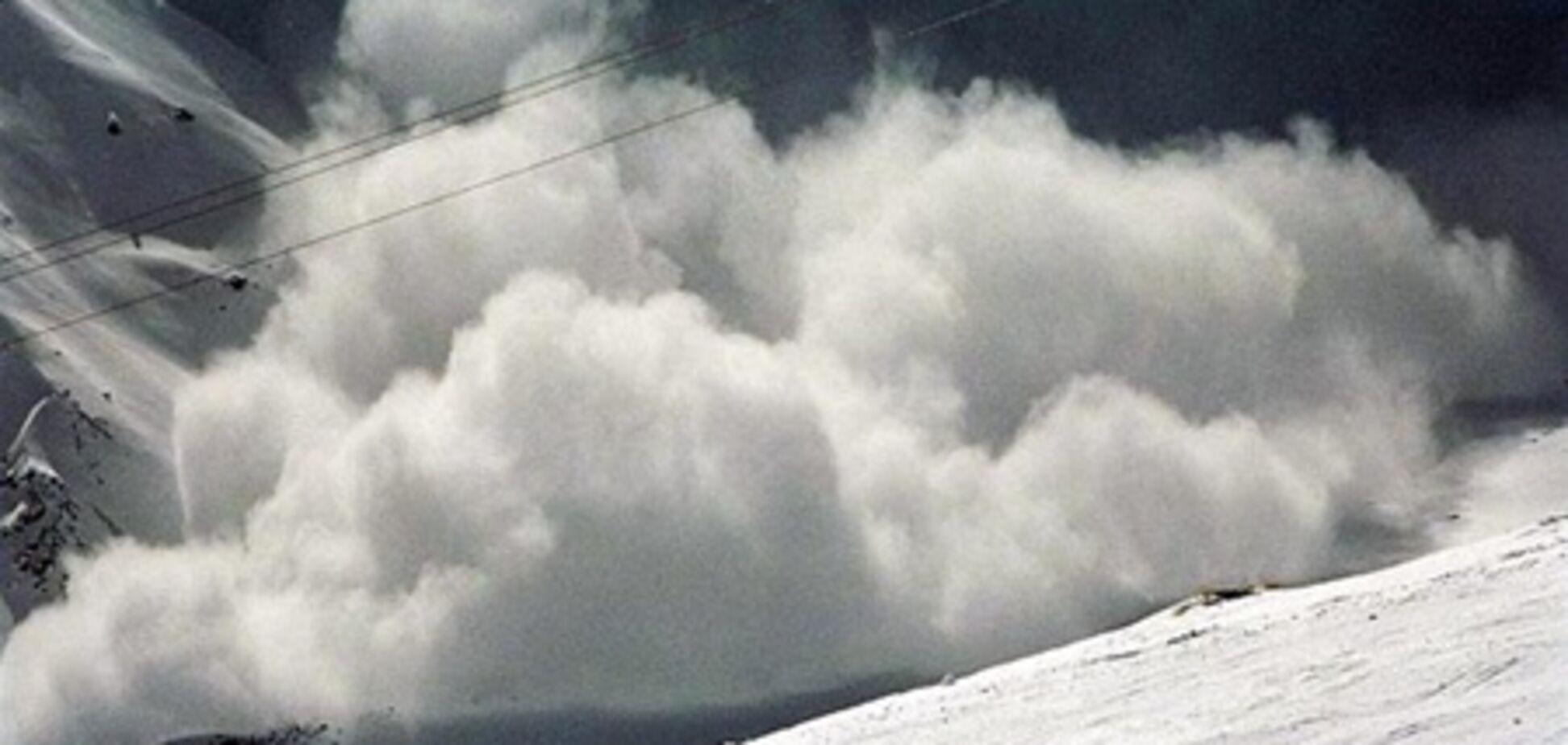 На Прикарпатье сошли три лавины