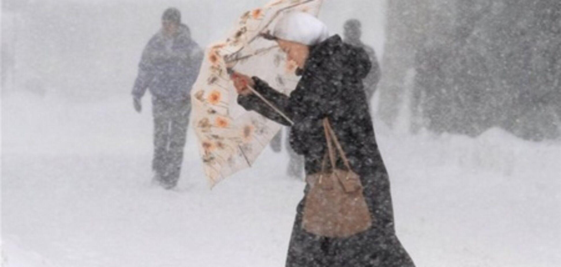 В Украине третий день подряд штормовое предупреждение