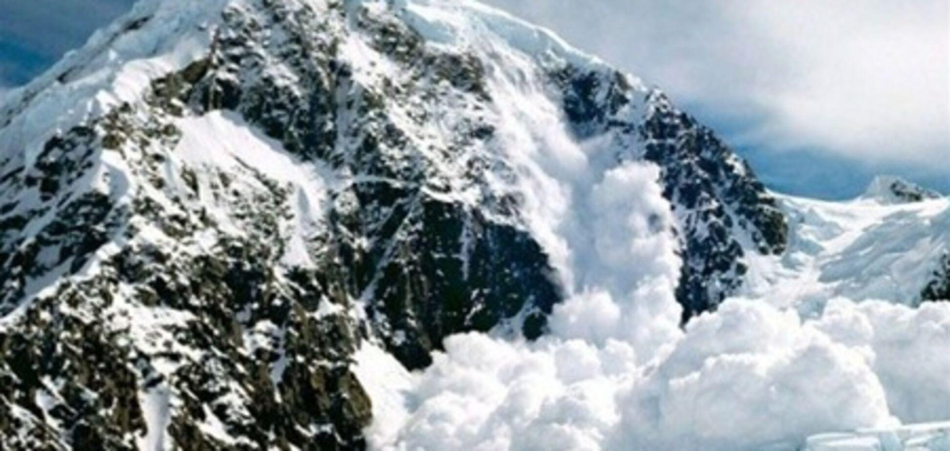 В Карпатах объявлена опасность схождения снежных лавин