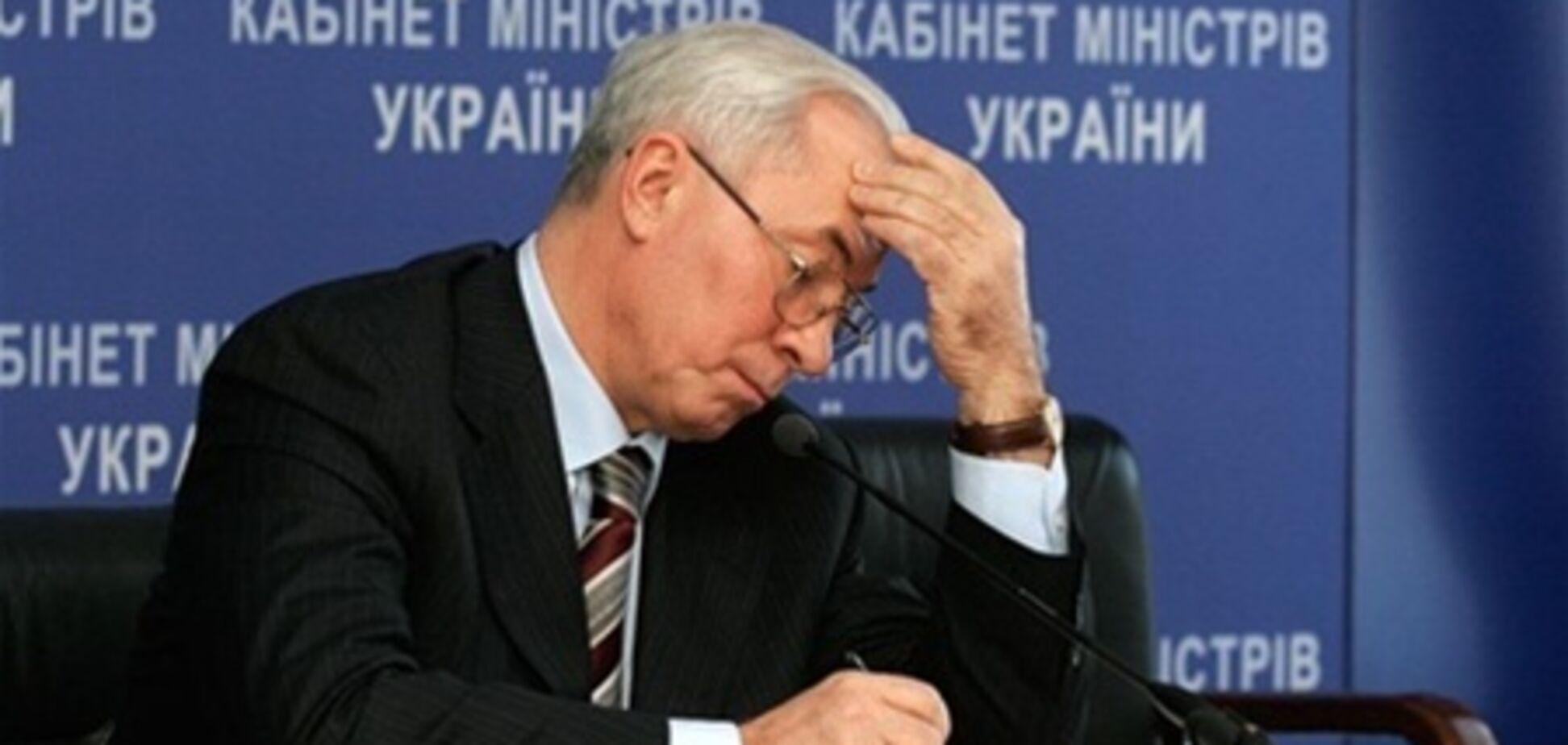 Азаров: досить скиглити, садіть картоплю