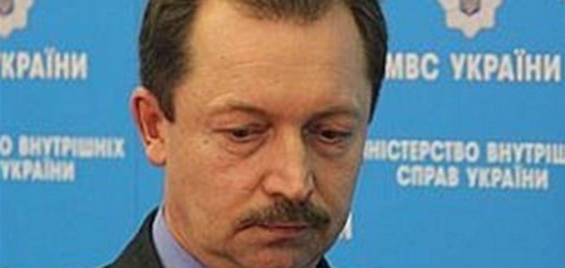 Спикер МВД подал рапорт об отставке