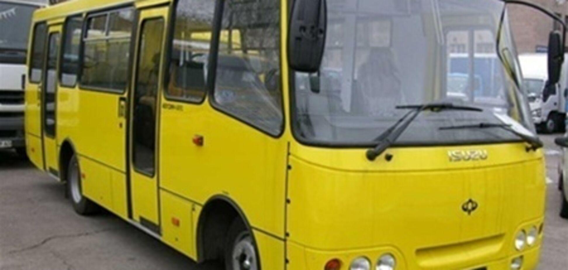 Эпилептика из маршрутки не выбрасывали - милиция Киева