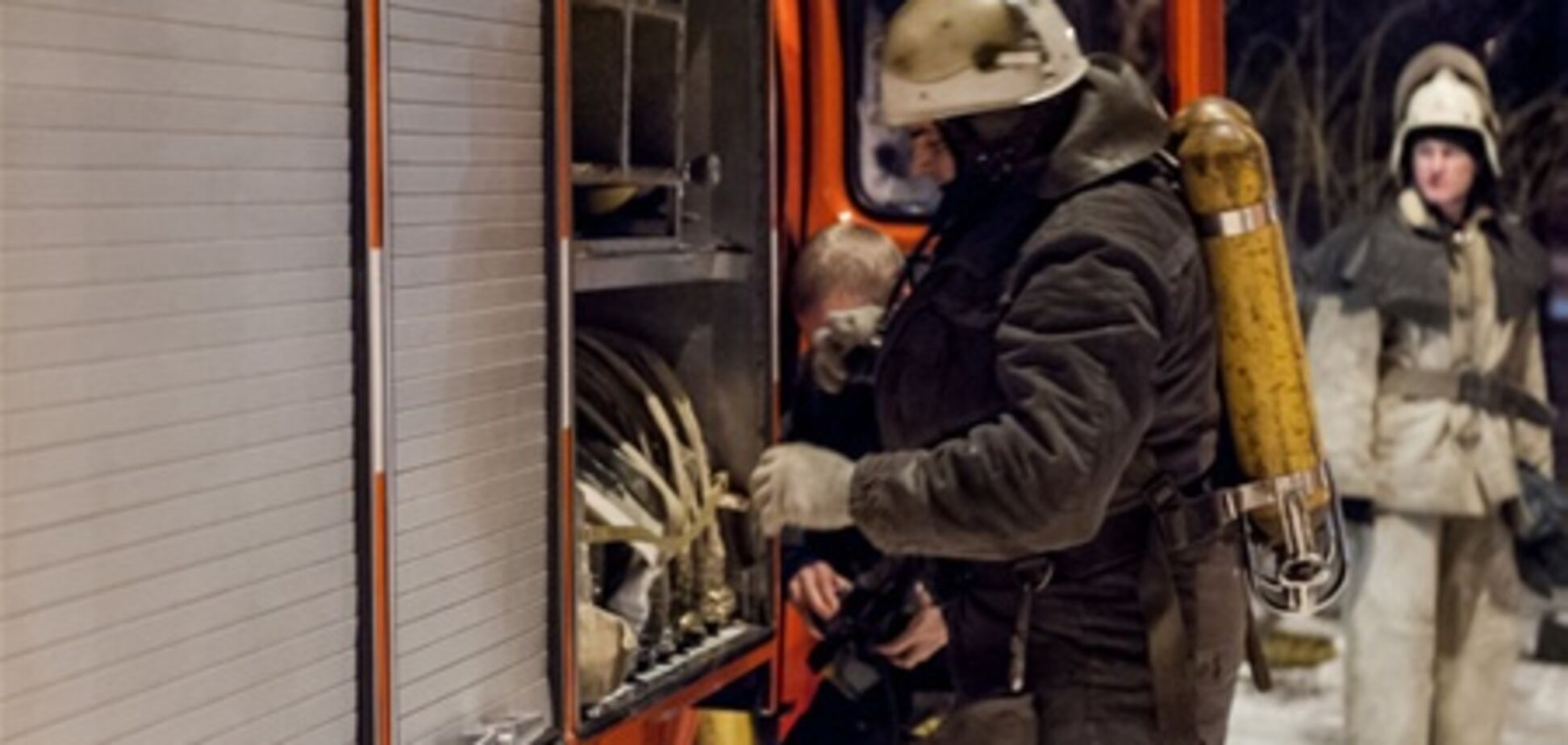 В Феодосии горело кафе 'Удача'