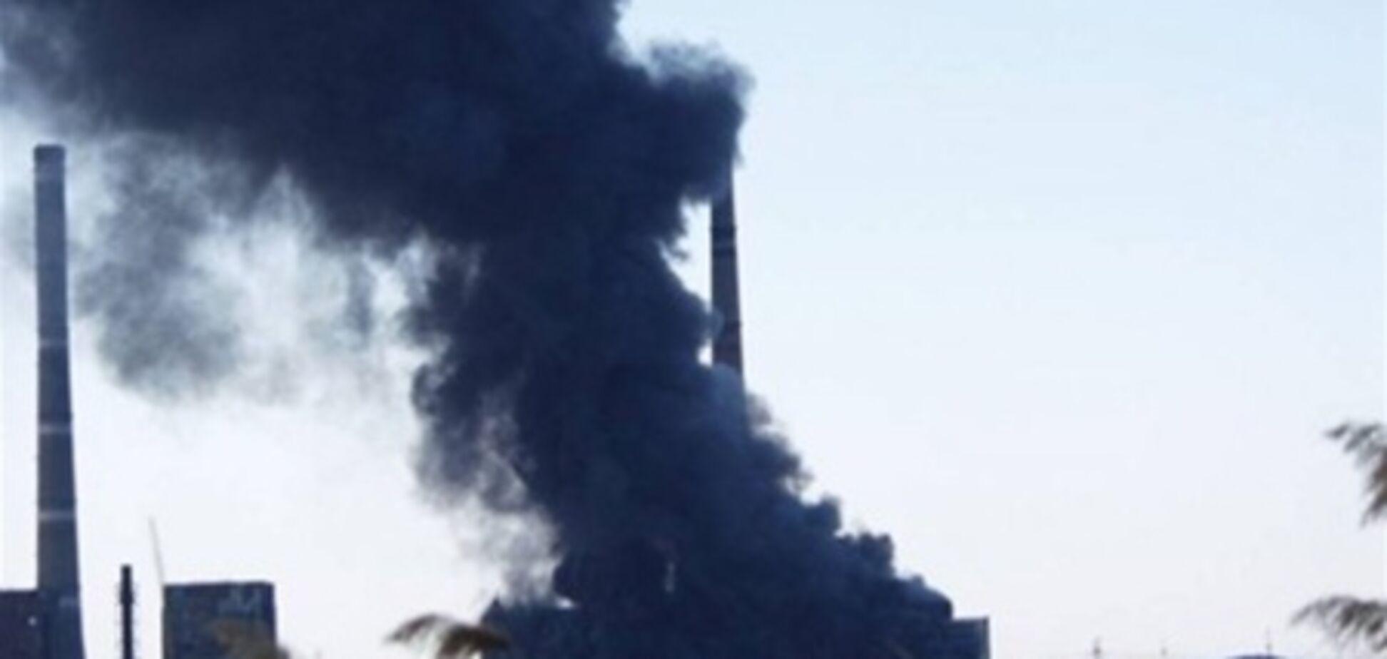 На пожаре на Углегорской ТЭС погиб 1 и пострадали 5 человек