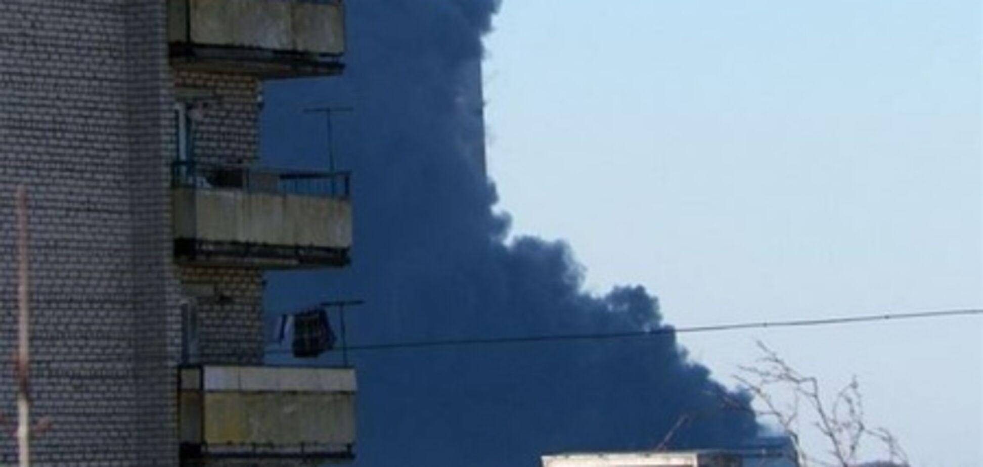 Из-за пожара на Углегорской ТЭС в Светлодарске нет отопления