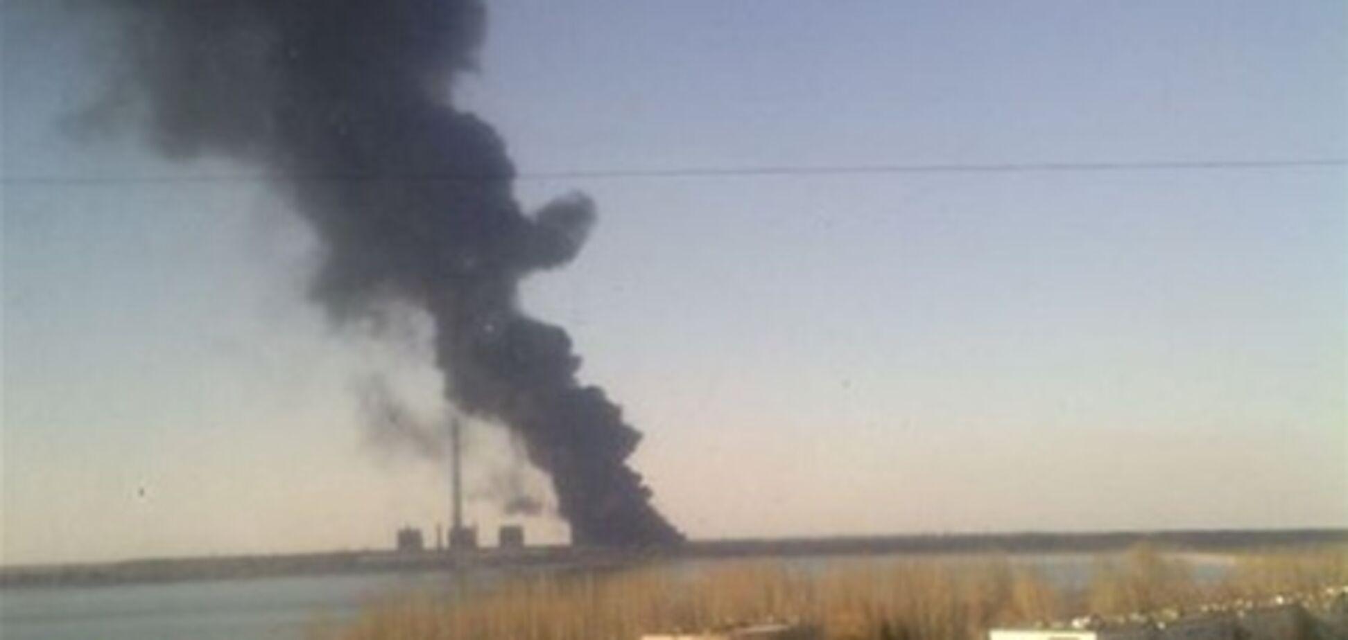 Пожар на Углегорской ТЭС уничтожил 4 энергоблока
