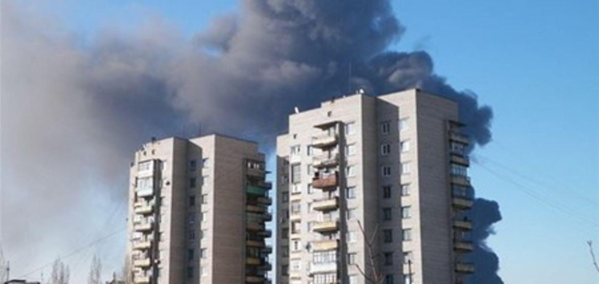 Прокуратура расследует пожар на Углегорской ТЭС