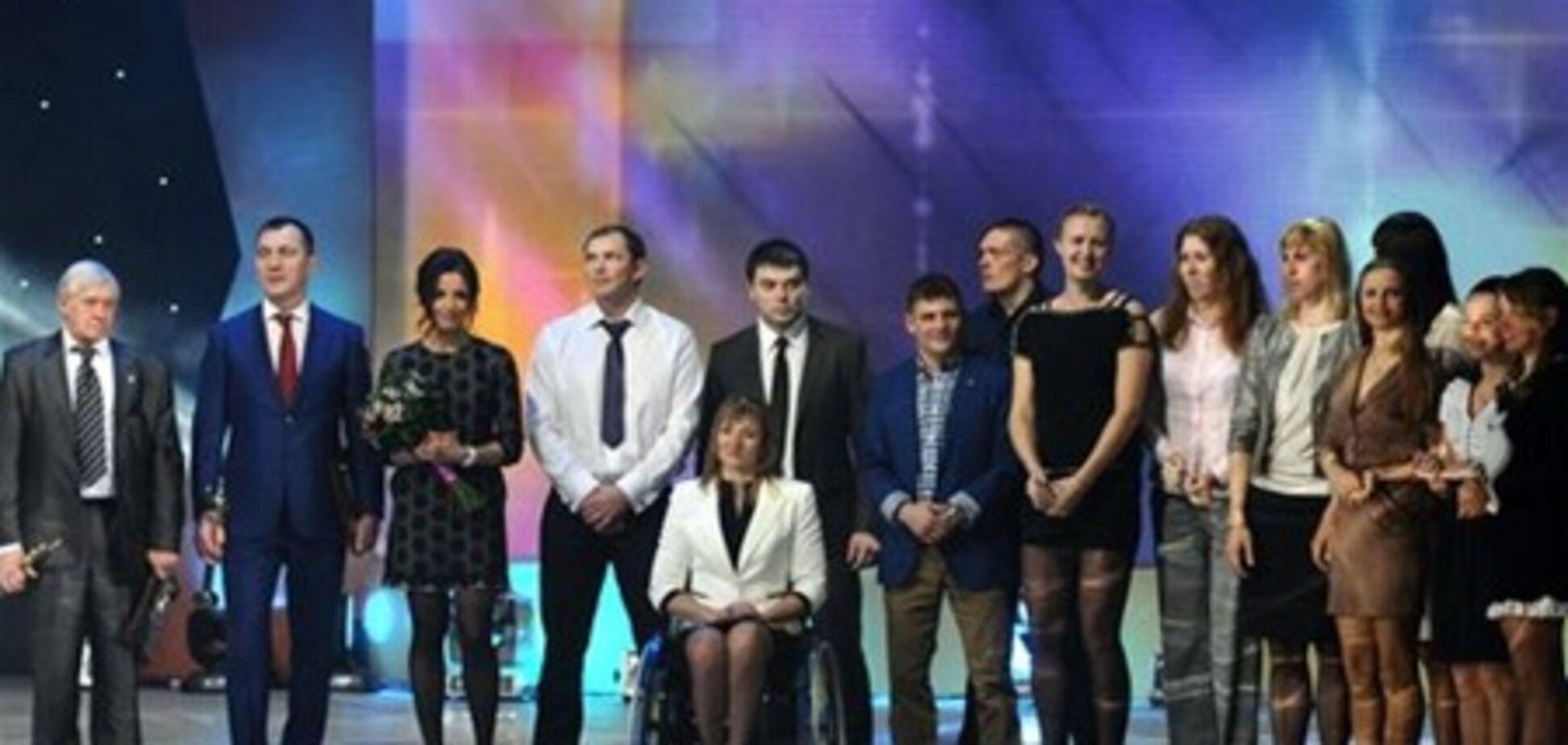 Названы лучшие спортсмены Украины 2012 года