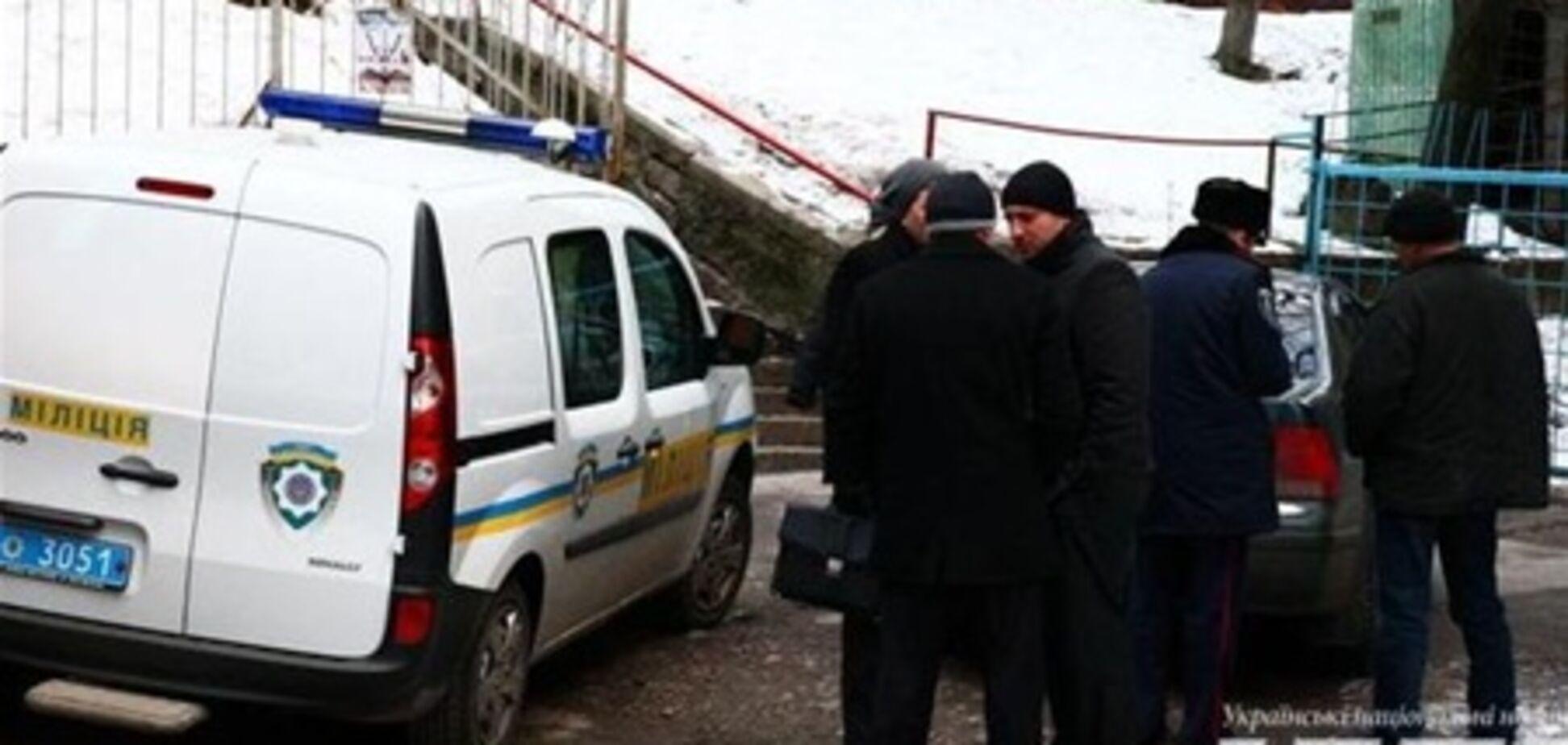 В Киеве взорвали автомобиль Рабиновича. Видео