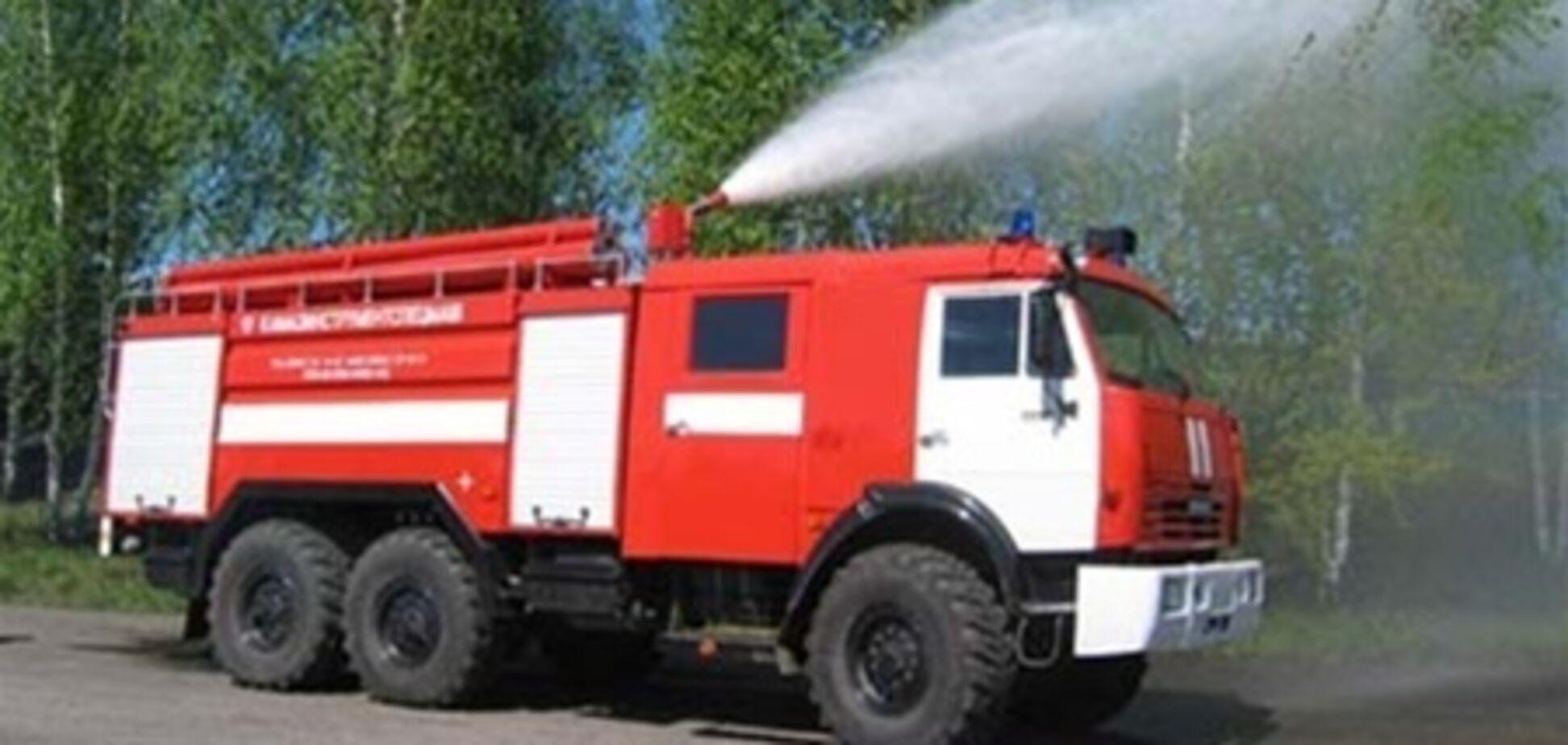 В Украине уменьшилось количество пожаров