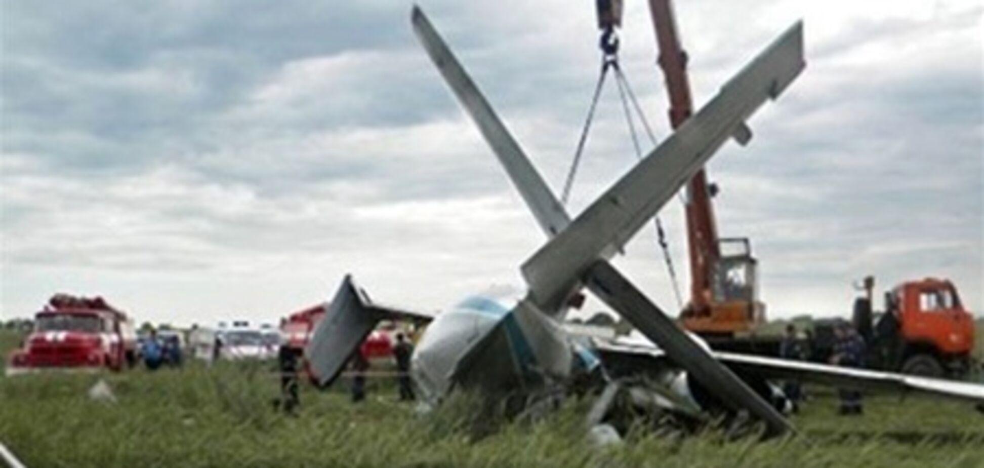В Бородянке прыгают с парашютом и после авиакатастрофы