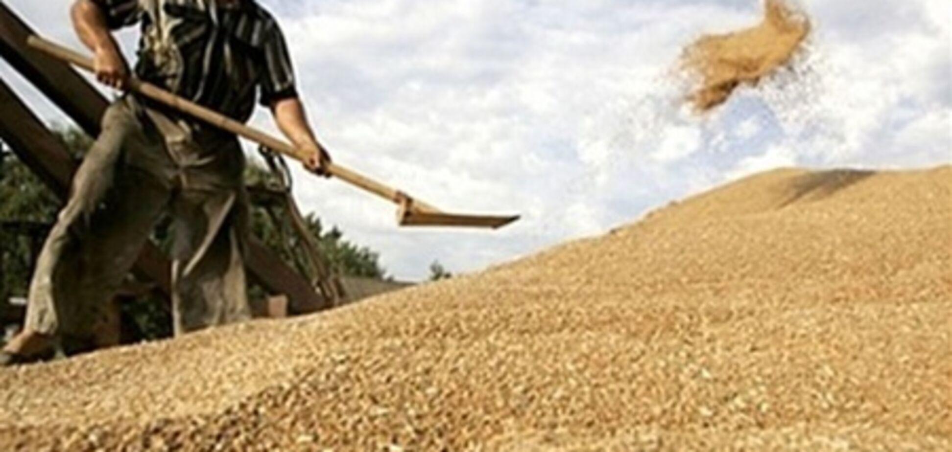 В Винницкой области мужчину насмерть засыпало зерном