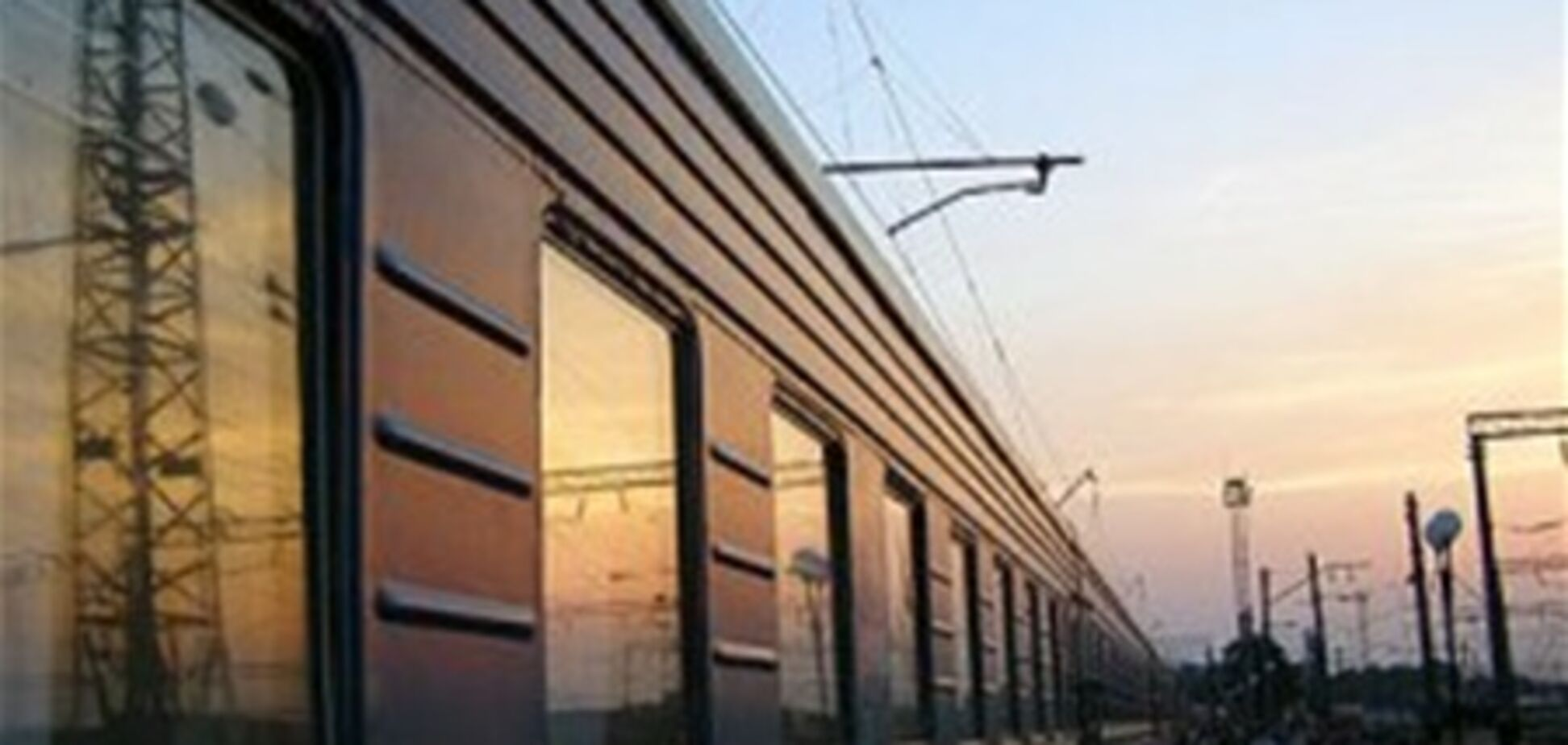 По вине пьяного водителя поезд сбил авто на Черкасщине