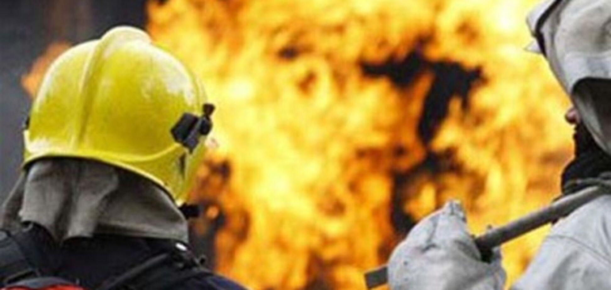 На Хмельнитчине на пожаре погибло трое людей