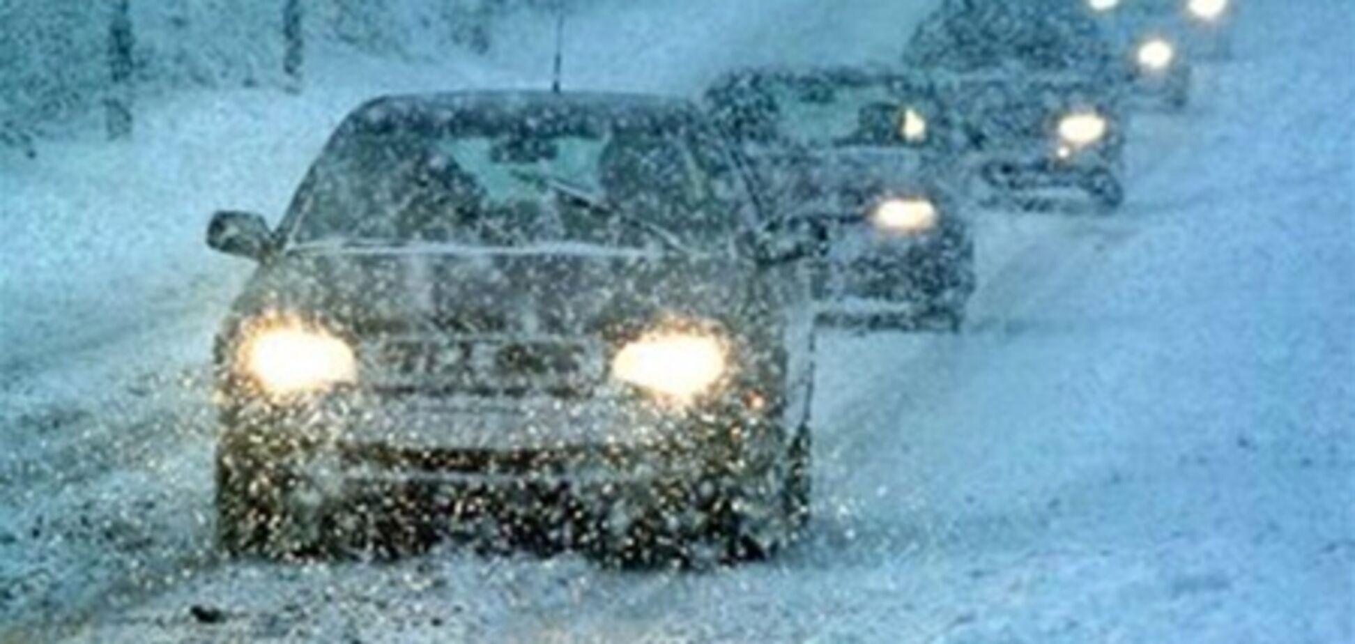 В Украину возвращаются снег и гололедица