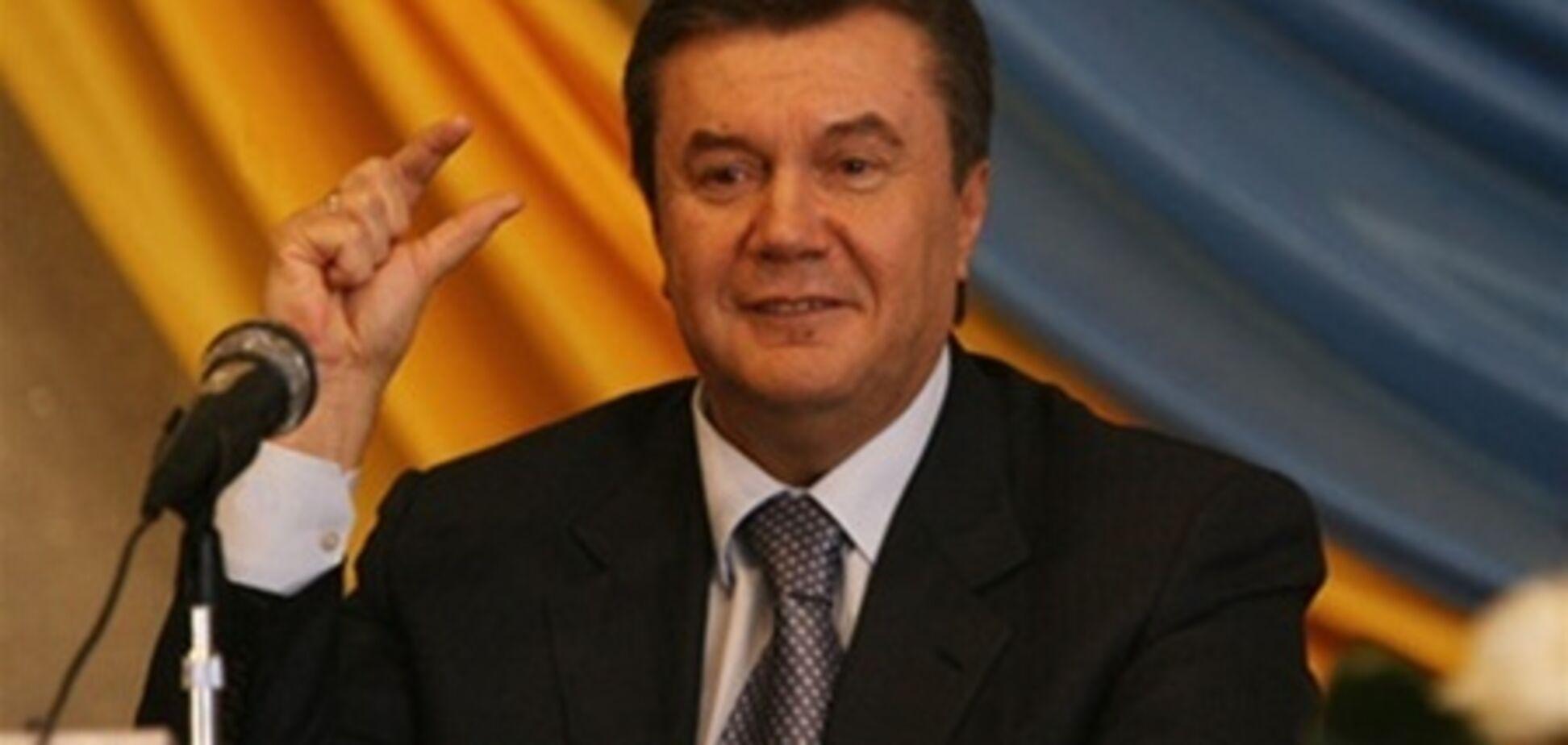 Янукович получил в 2012 более 20 млн грн дохода