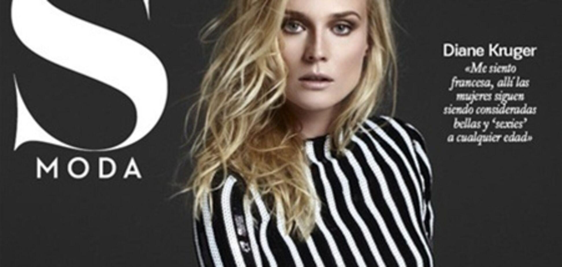 Полосатая Крюгер украсила обложку S Moda. Фото
