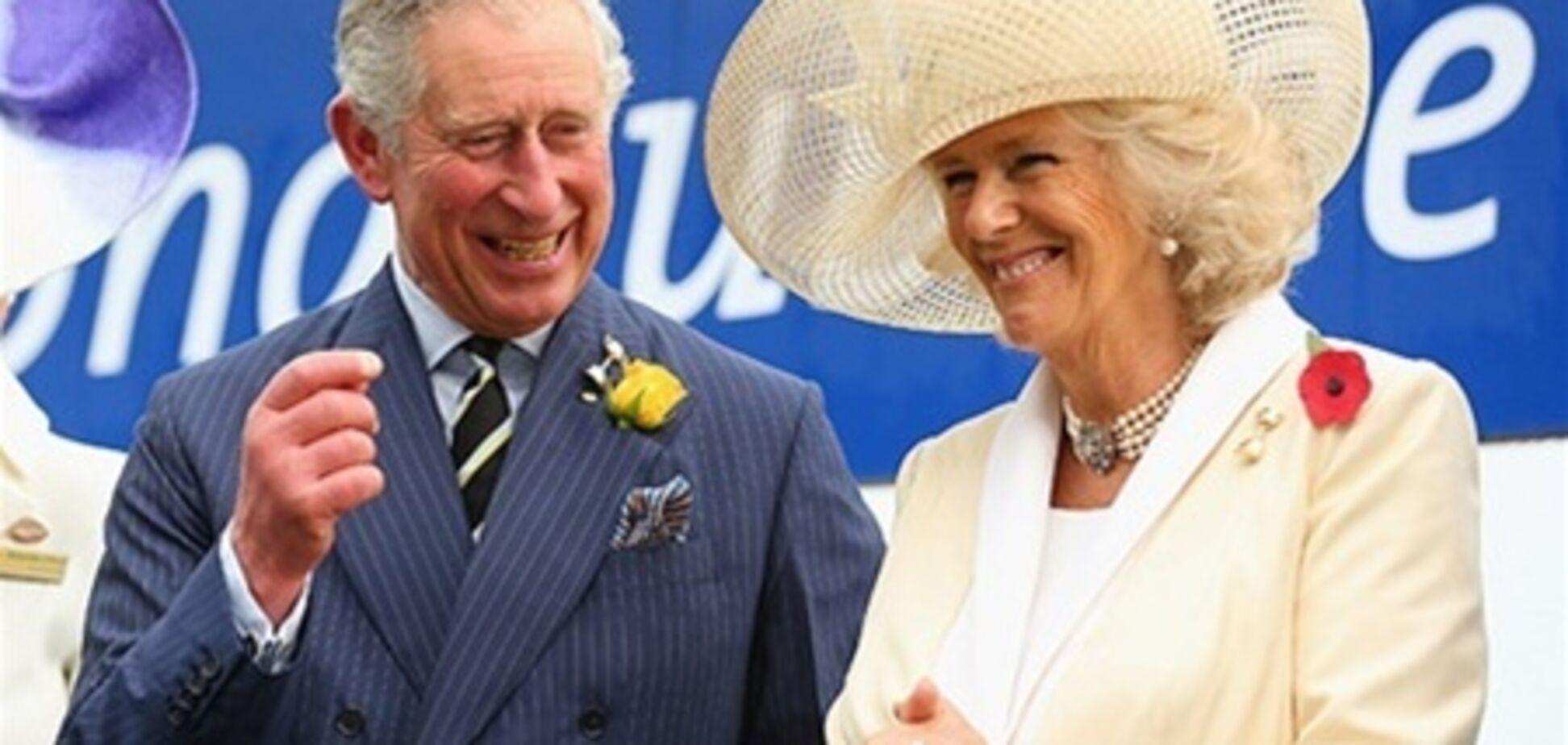 Принц Чарльз и Камилла живут в браке восемь лет. Фото