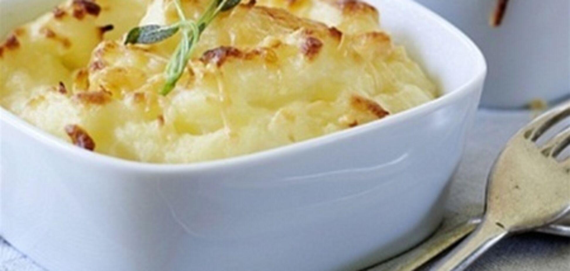 Картофельный гратен с шалфеем
