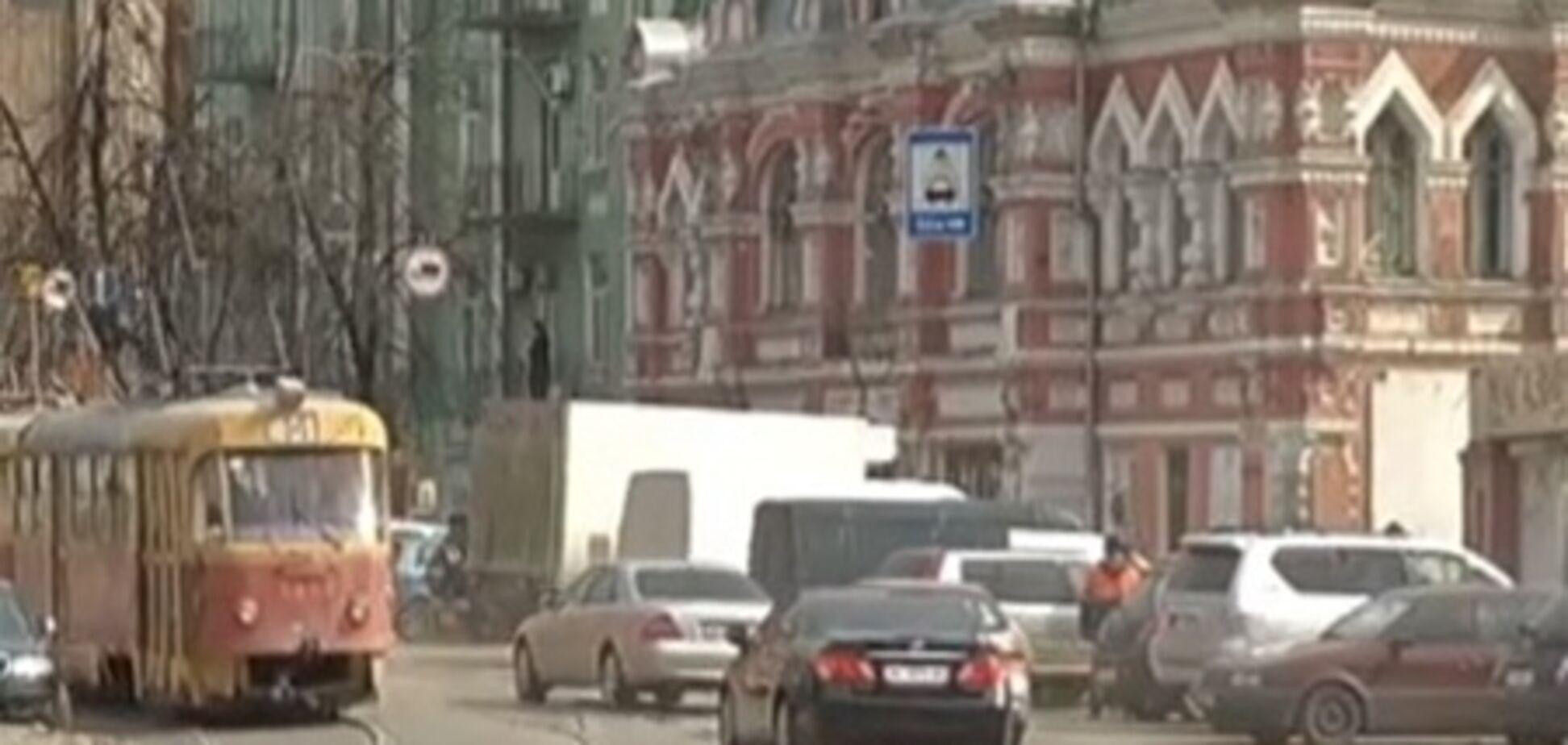 На Лукьяновке из-за нового ТРЦ уберут трамвай