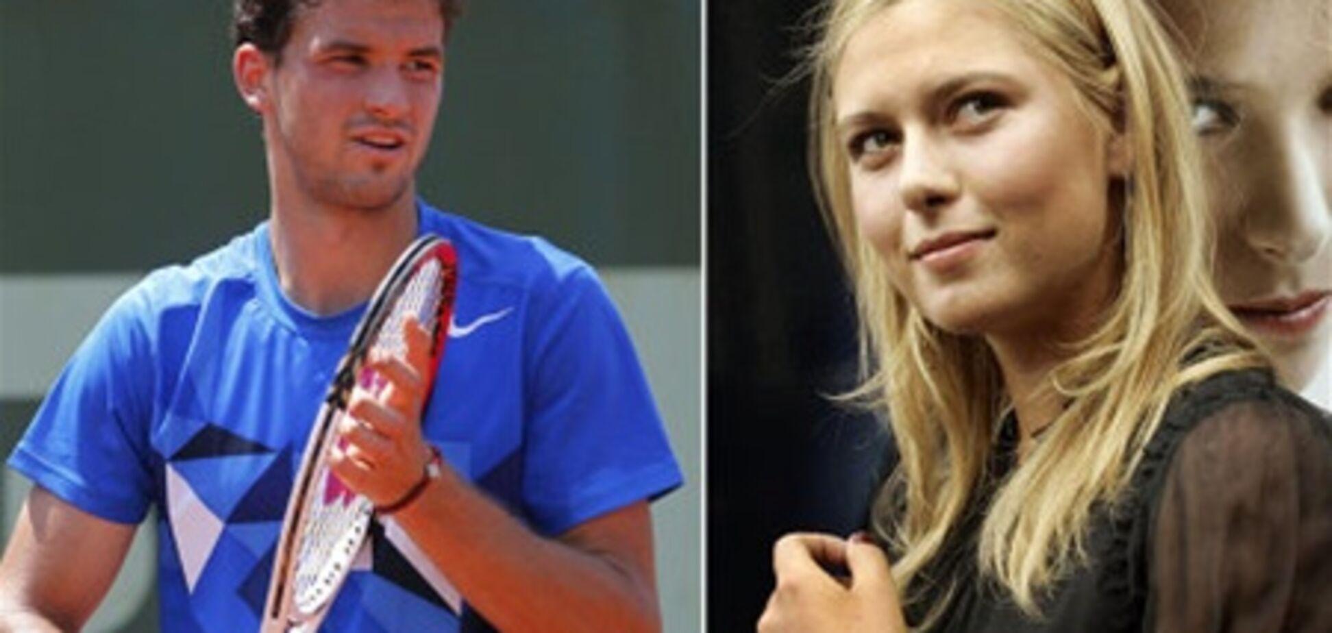 Шарапова крутит шашни с болгарским теннисистом