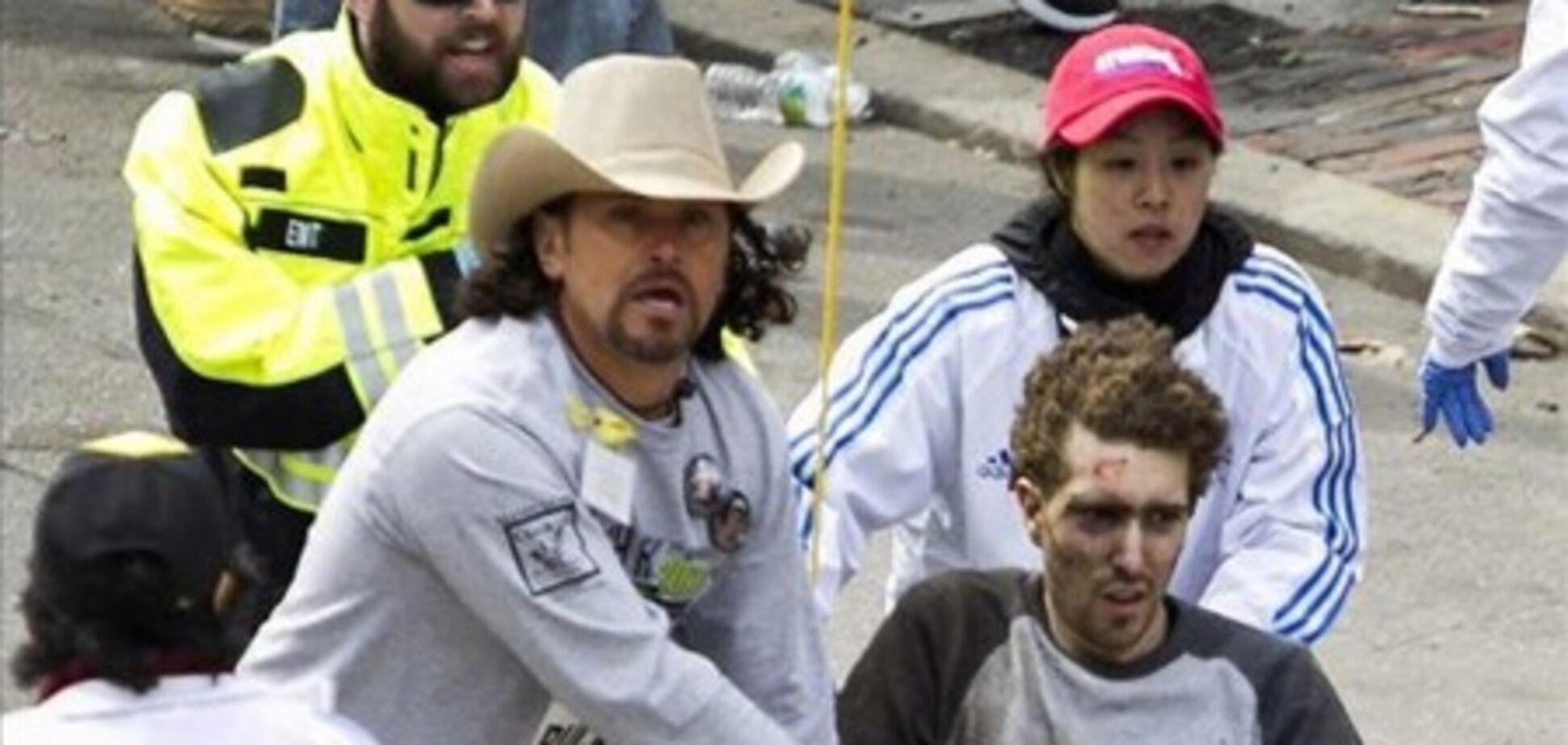 Герой бостонського марафону